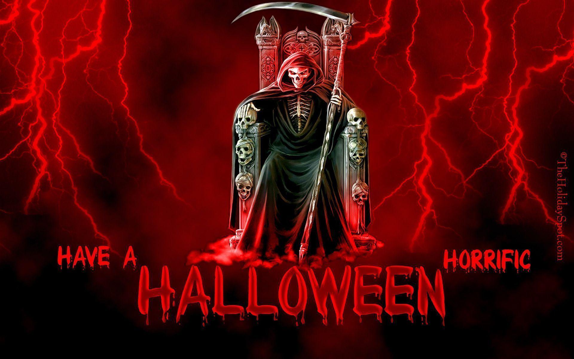 2560x1600 Halloween Wallpaper HD Free