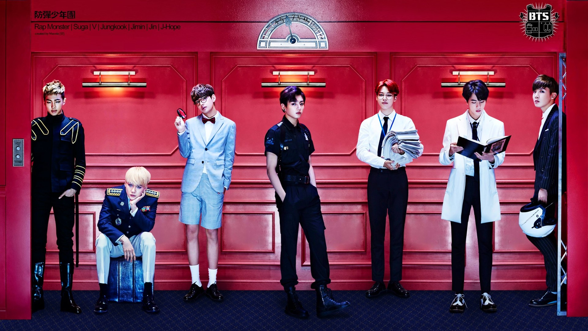 1920x1080 View all Bangtan Boys Wallpapers. Report this Image? favorite enlarge^   ...