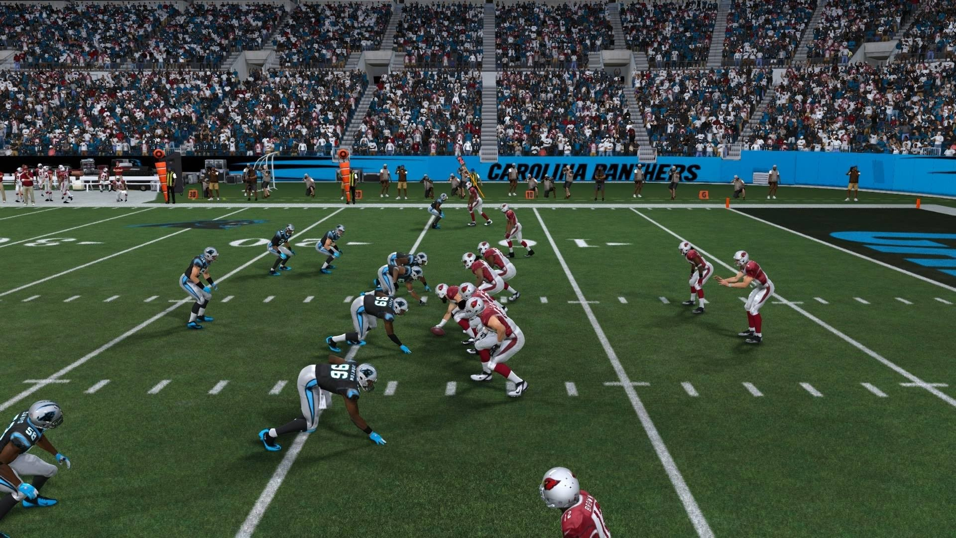 1920x1080 NFL Playoffs 2015 - Arizona Cardinals vs Carolina Panthers - 1st Qrt -  Madden 15 PS4 - HD - YouTube