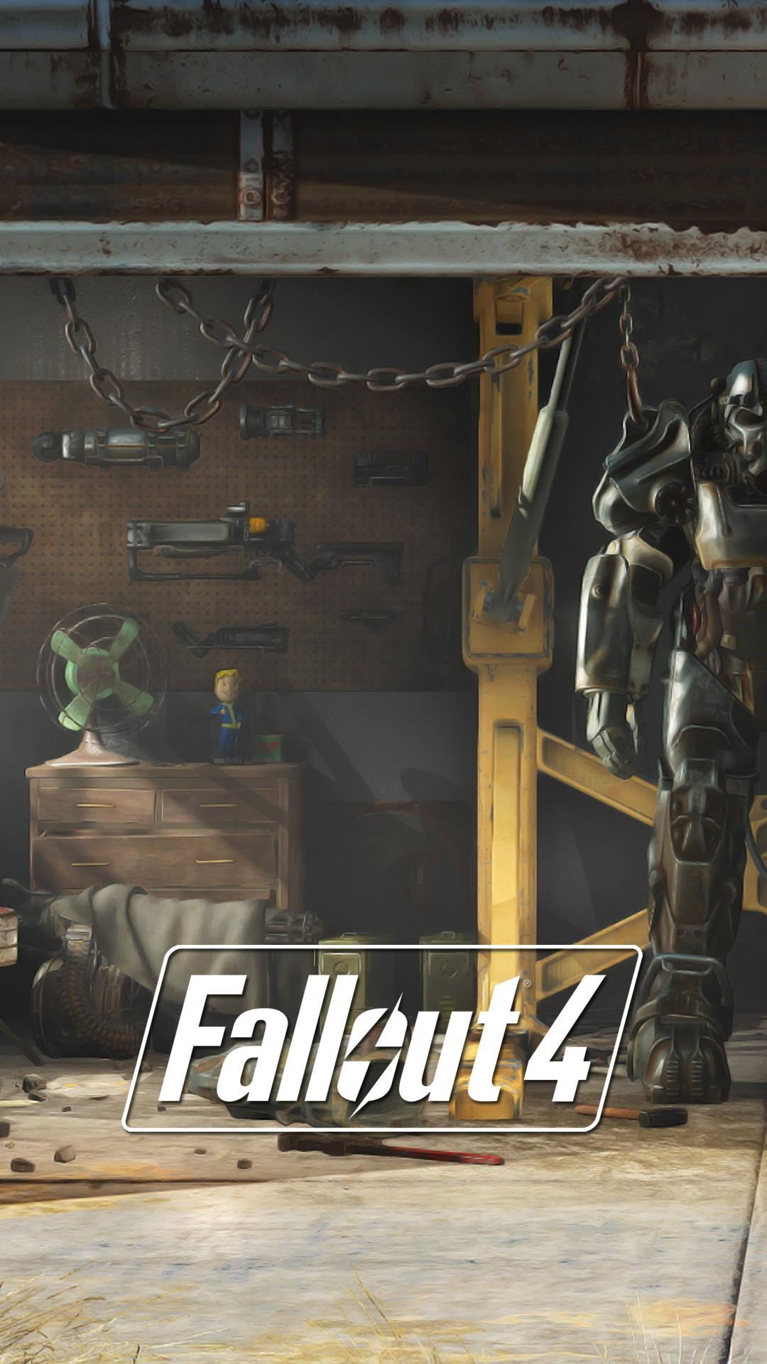 1080x1920 I made some Fallout 4 lock screen wallpapers from E3 stills [1080p] : gaming