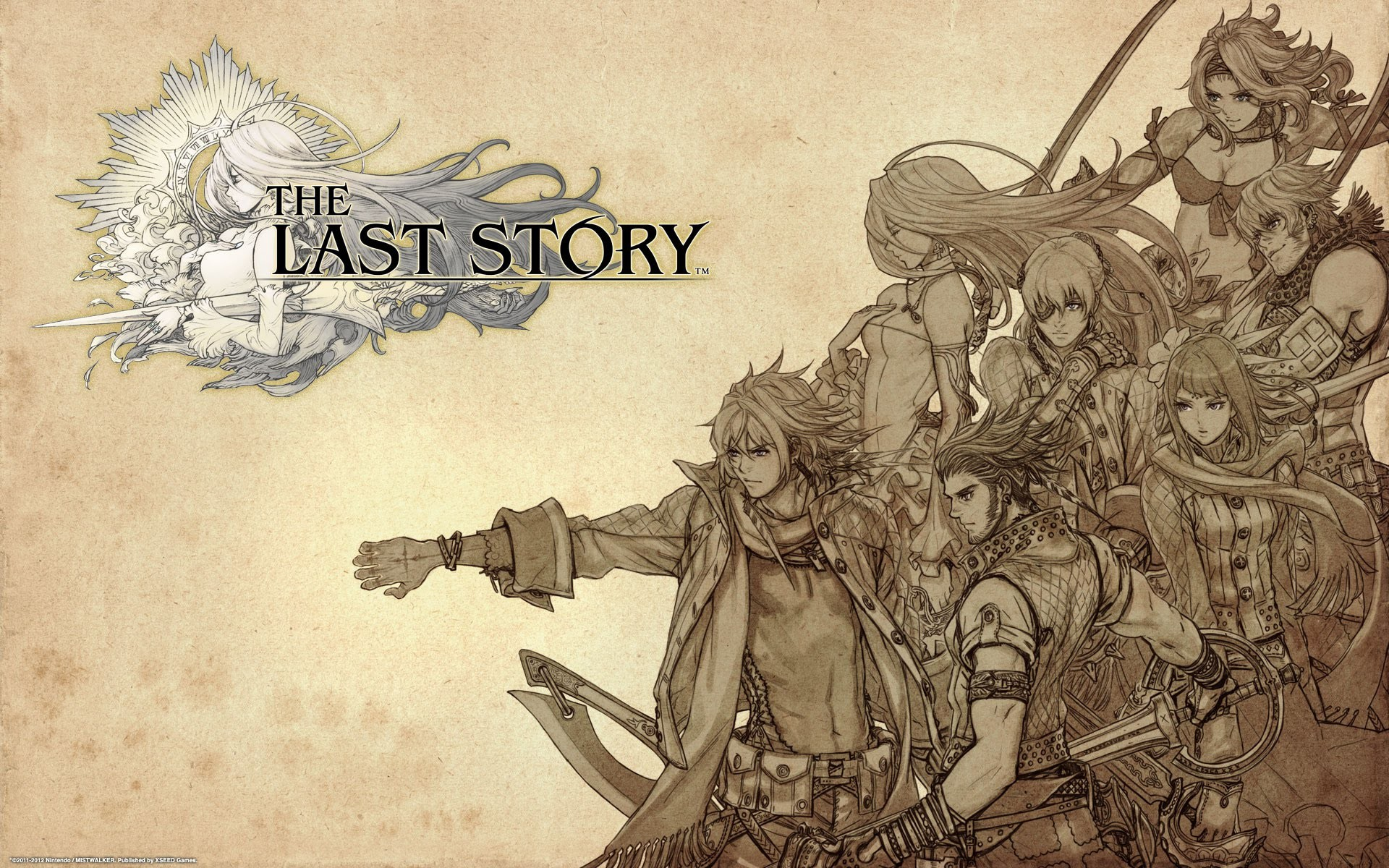 1920x1200 The Last Story (Wii) - Analise