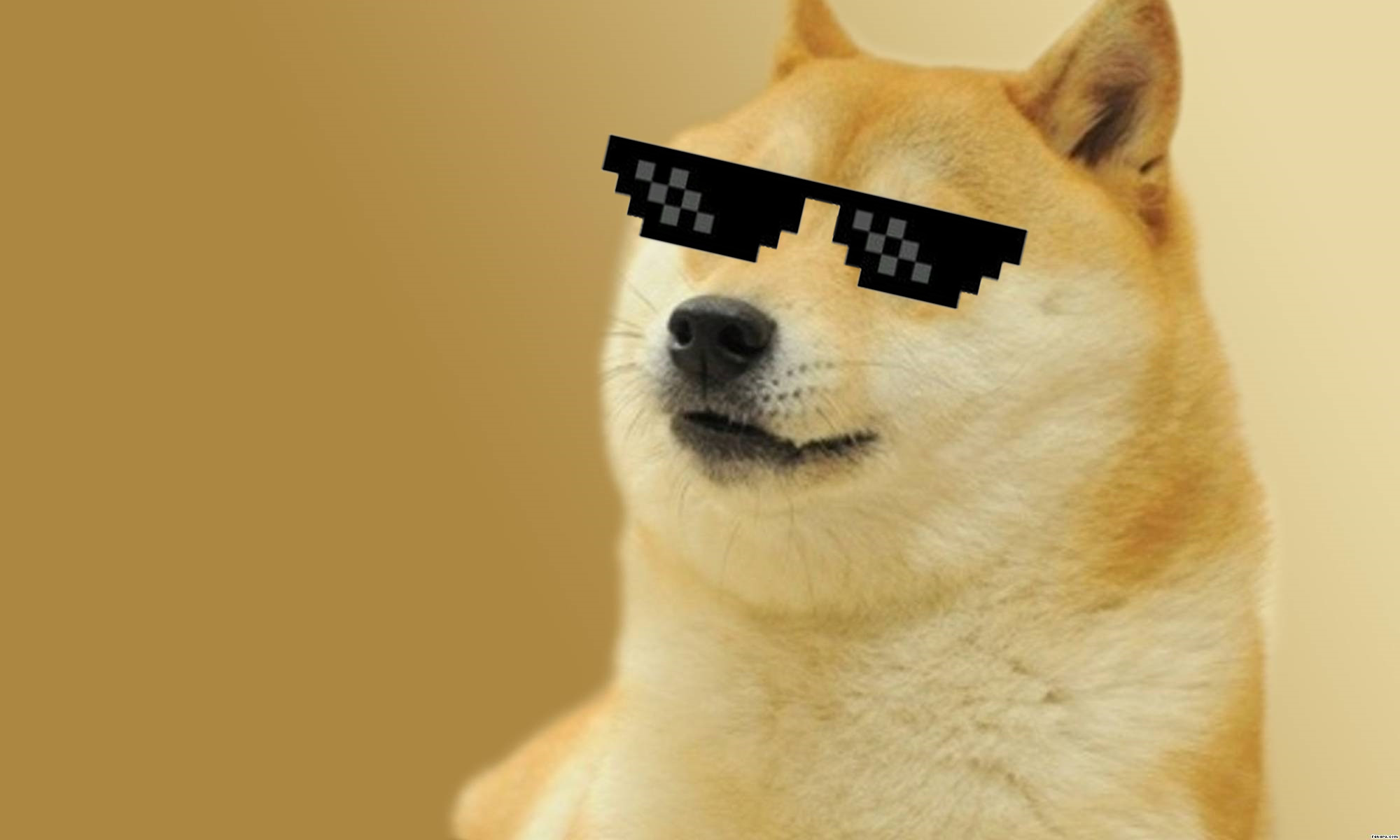 2000x1200 B.SCB Wallpapers: Doge, by Alan Geib