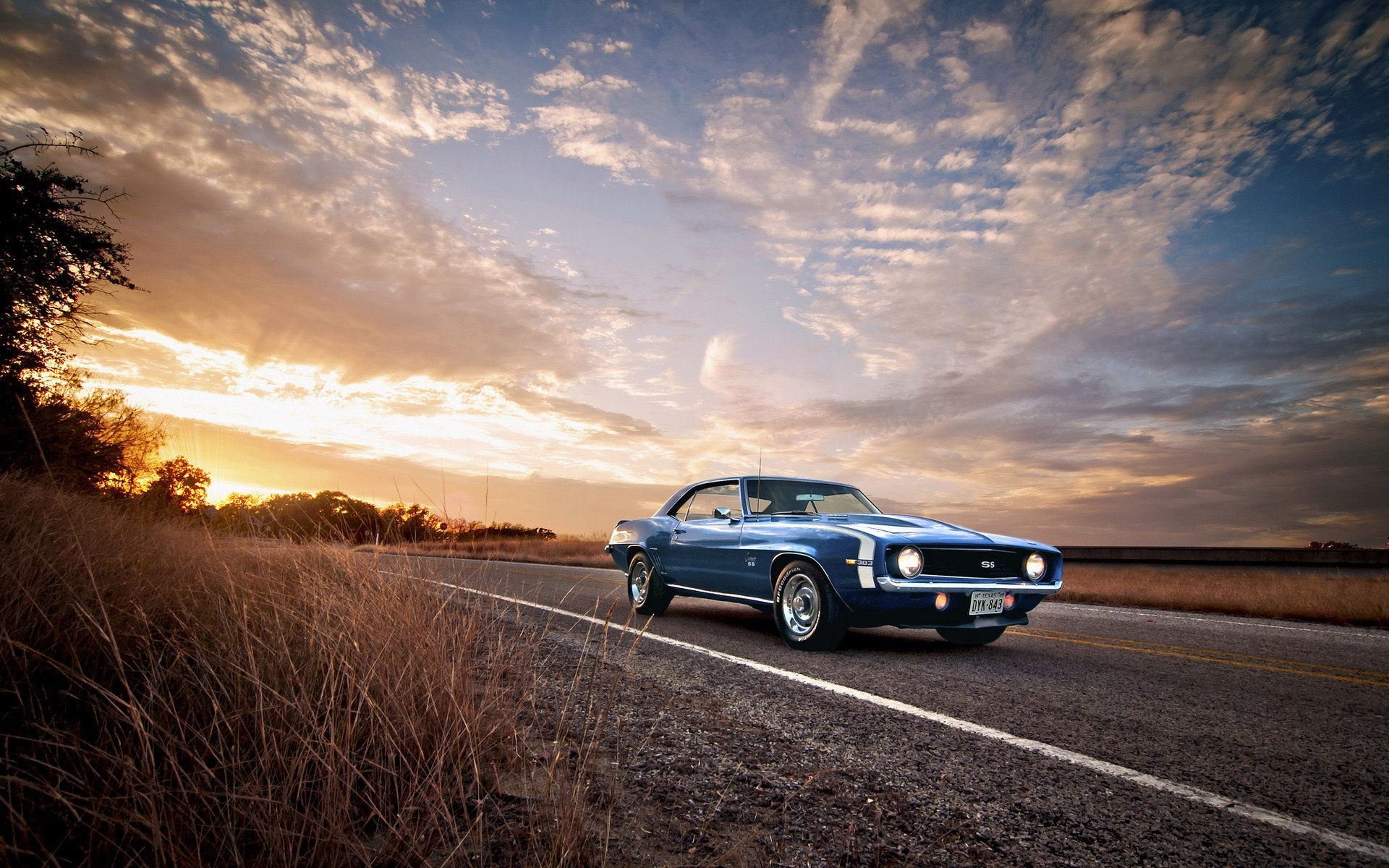 1920x1200 Photography of Camaro SS Classic Muscle Car HD Wallpaper 1920×1200 Pixel  Wallpaper