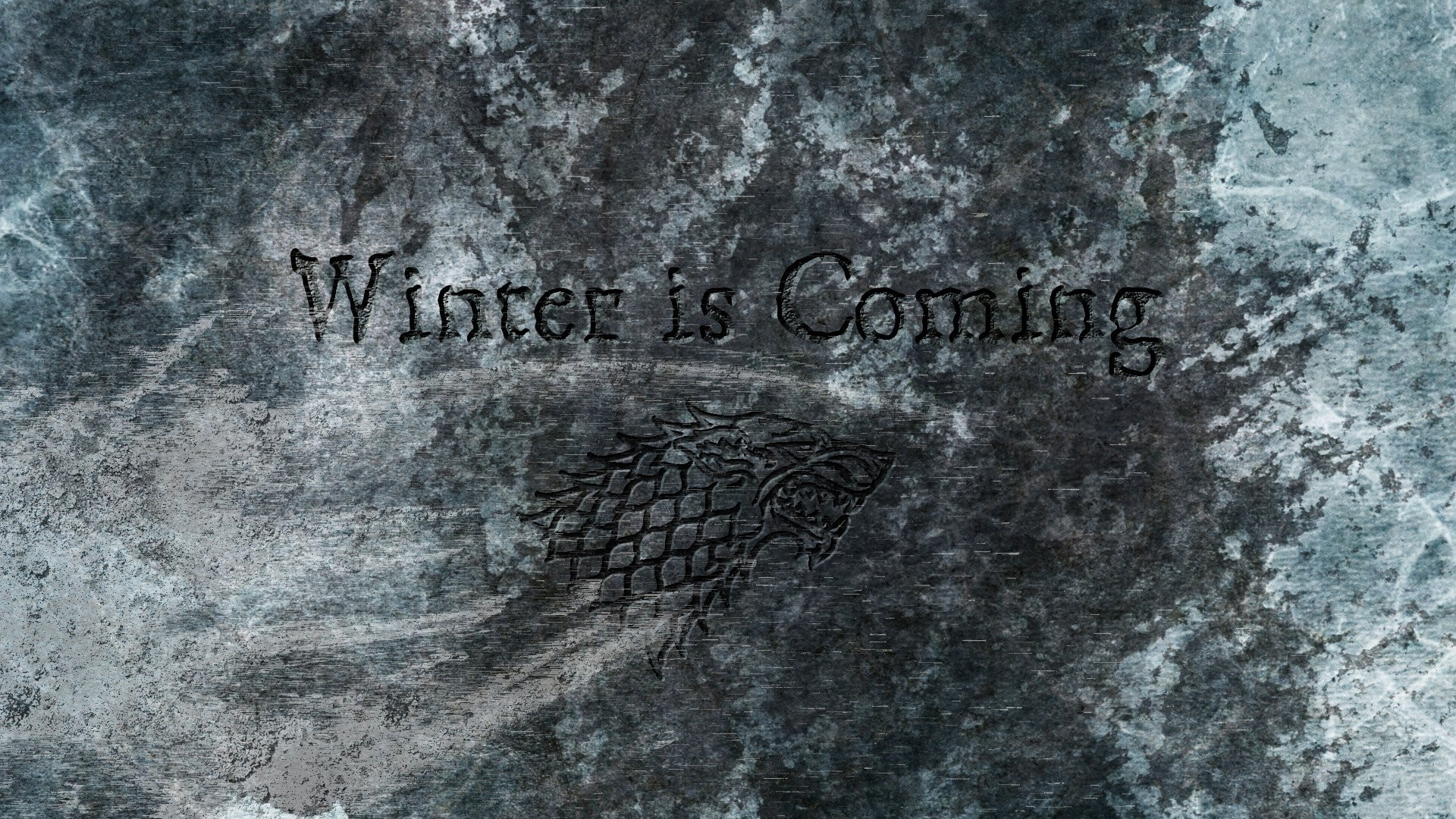 1920x1080 Game Of Thrones House Stark Direwolf ...