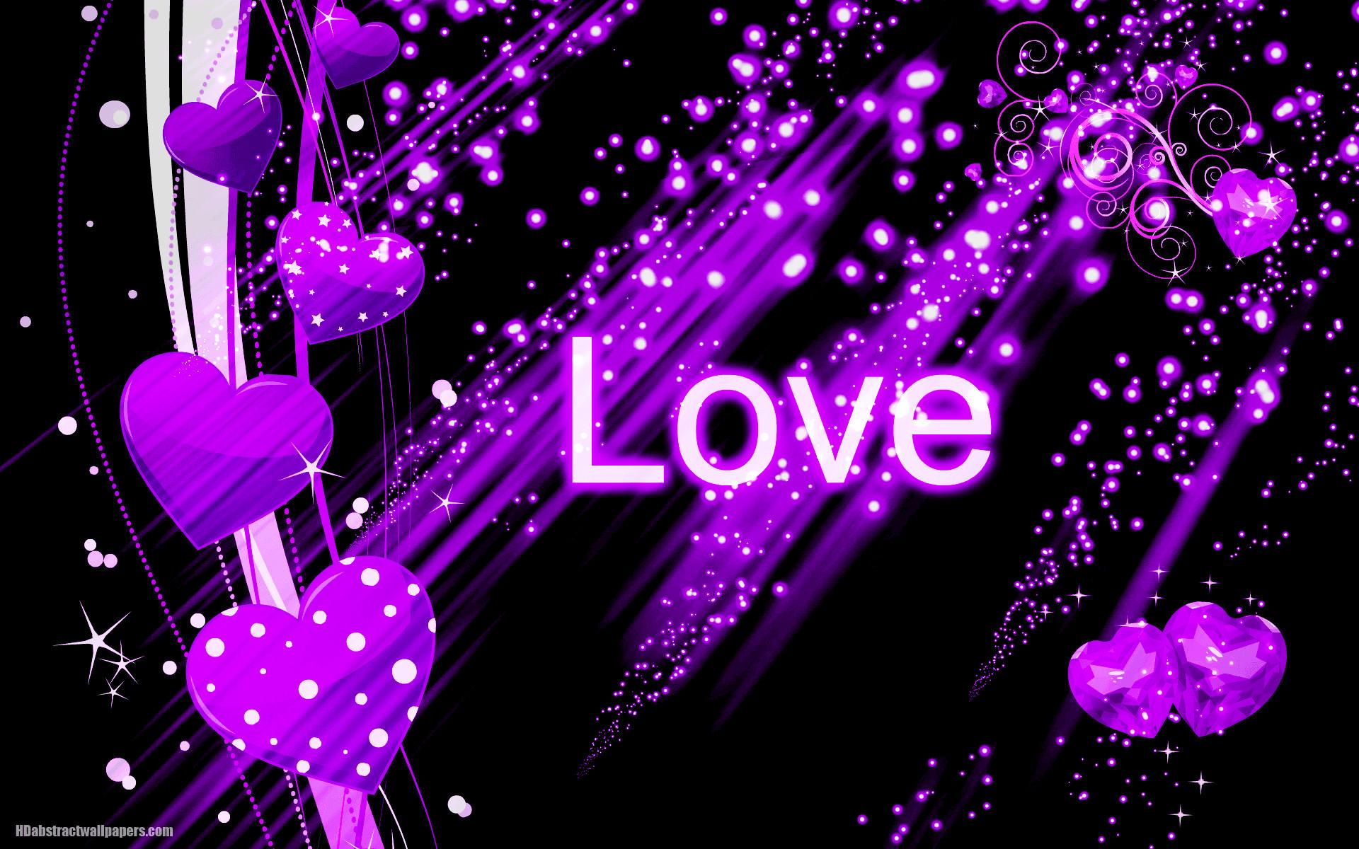 Purple Love Wallpaper 51 Images