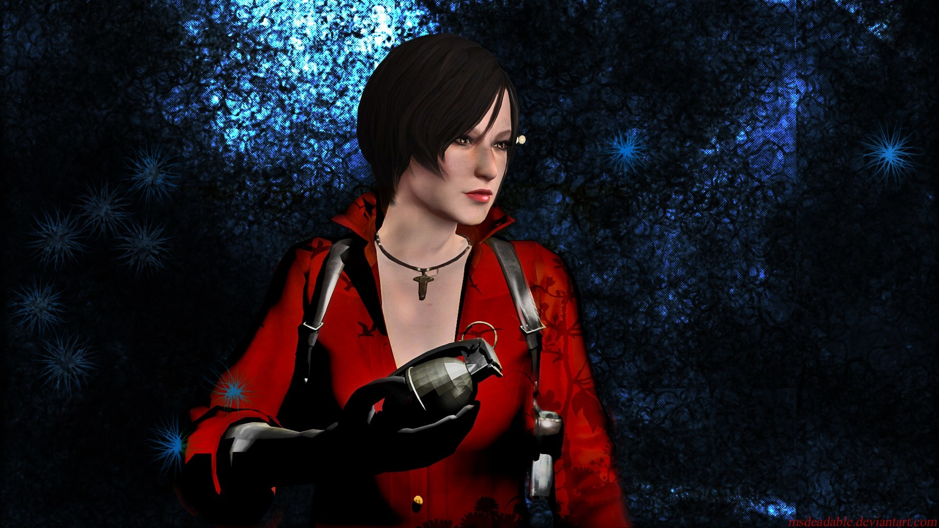 1920x1080 Rejiclad 17 10 Ada Wong by MsDeadable
