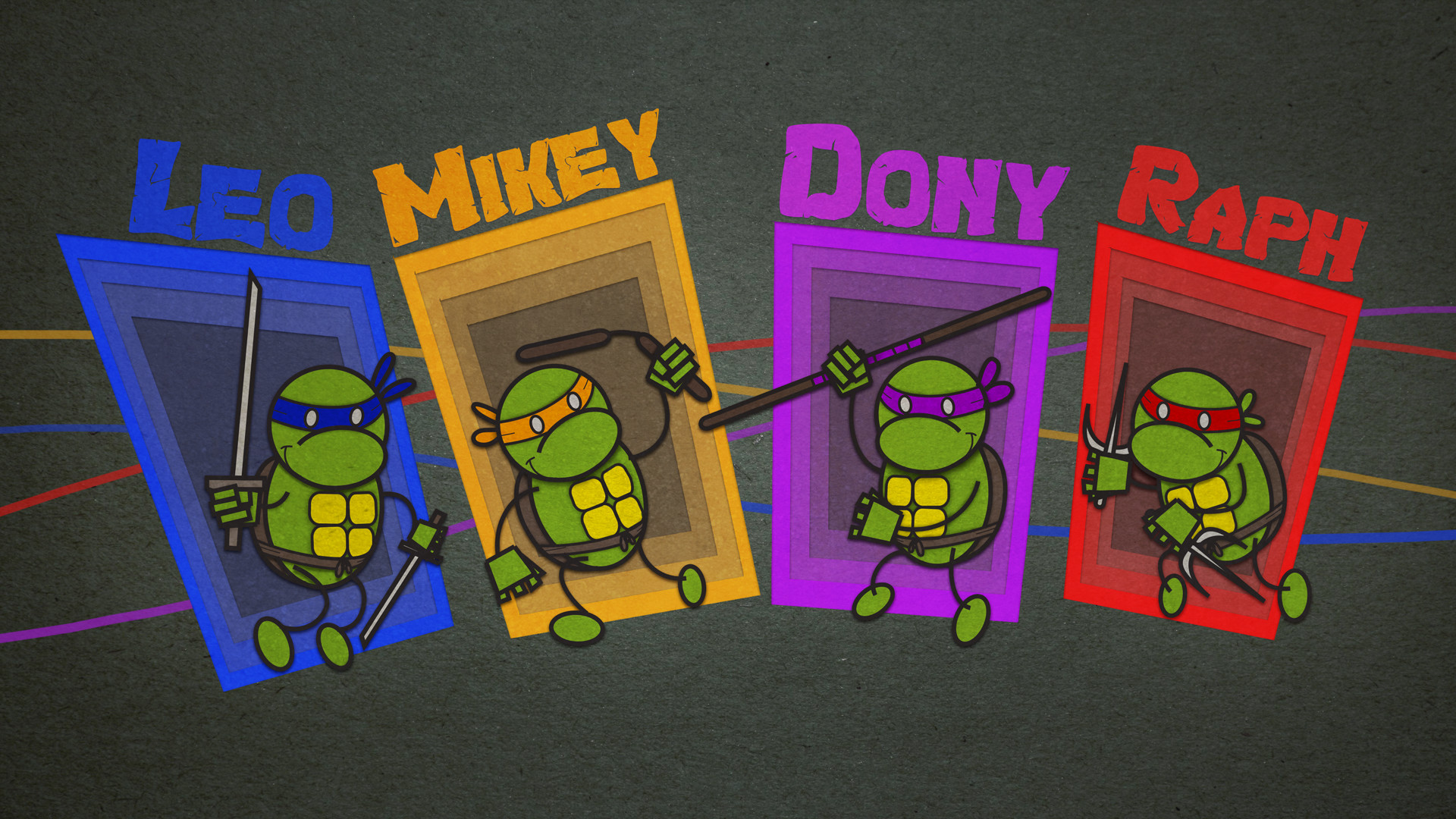 1920x1080 Best Tmnt Wallpapers HD.