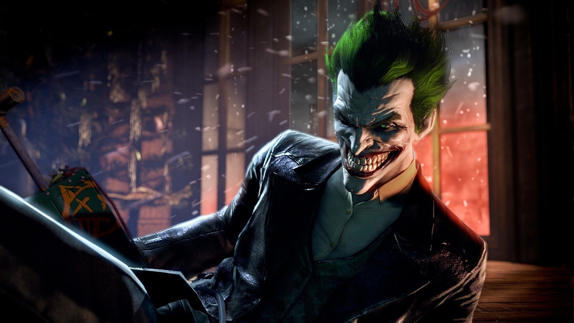 1920x1080 The Joker - Batman - Arkham Origins HD Wallpaper