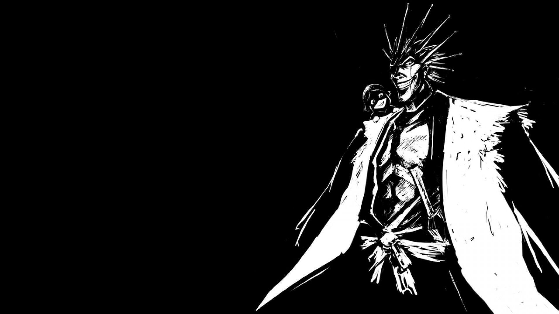 1920x1080 In The Darkness Kenpachi Of Zaraki HD Wallpapers | HD Wallpapers