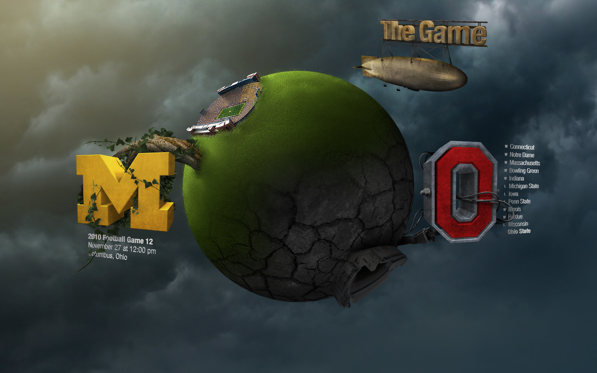 1920x1200 michigan football background wallpaper Michigan Football wallpaper - 321997