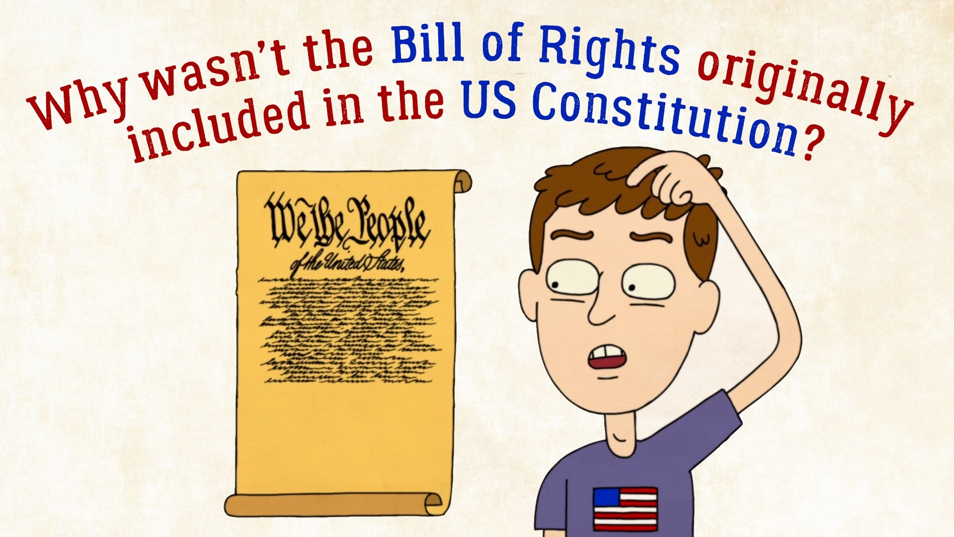 1920x1080 Why wasn't the Bill of Rights originally in the US Constitution? - James  Coll