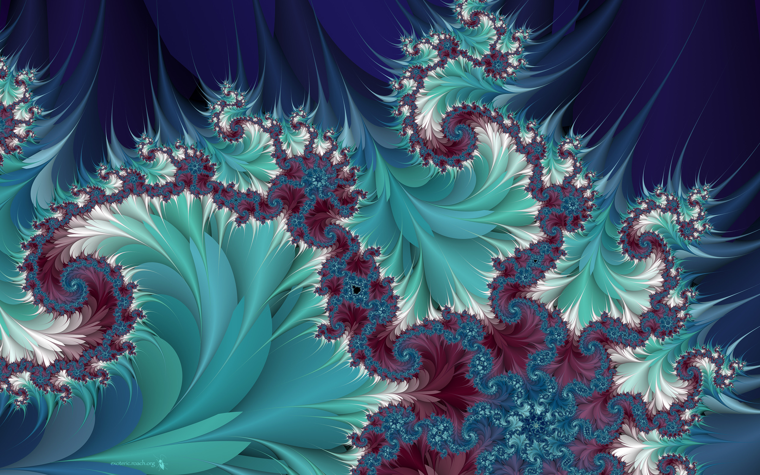 2560x1600 D Fractal Wallpapers Wallpaper