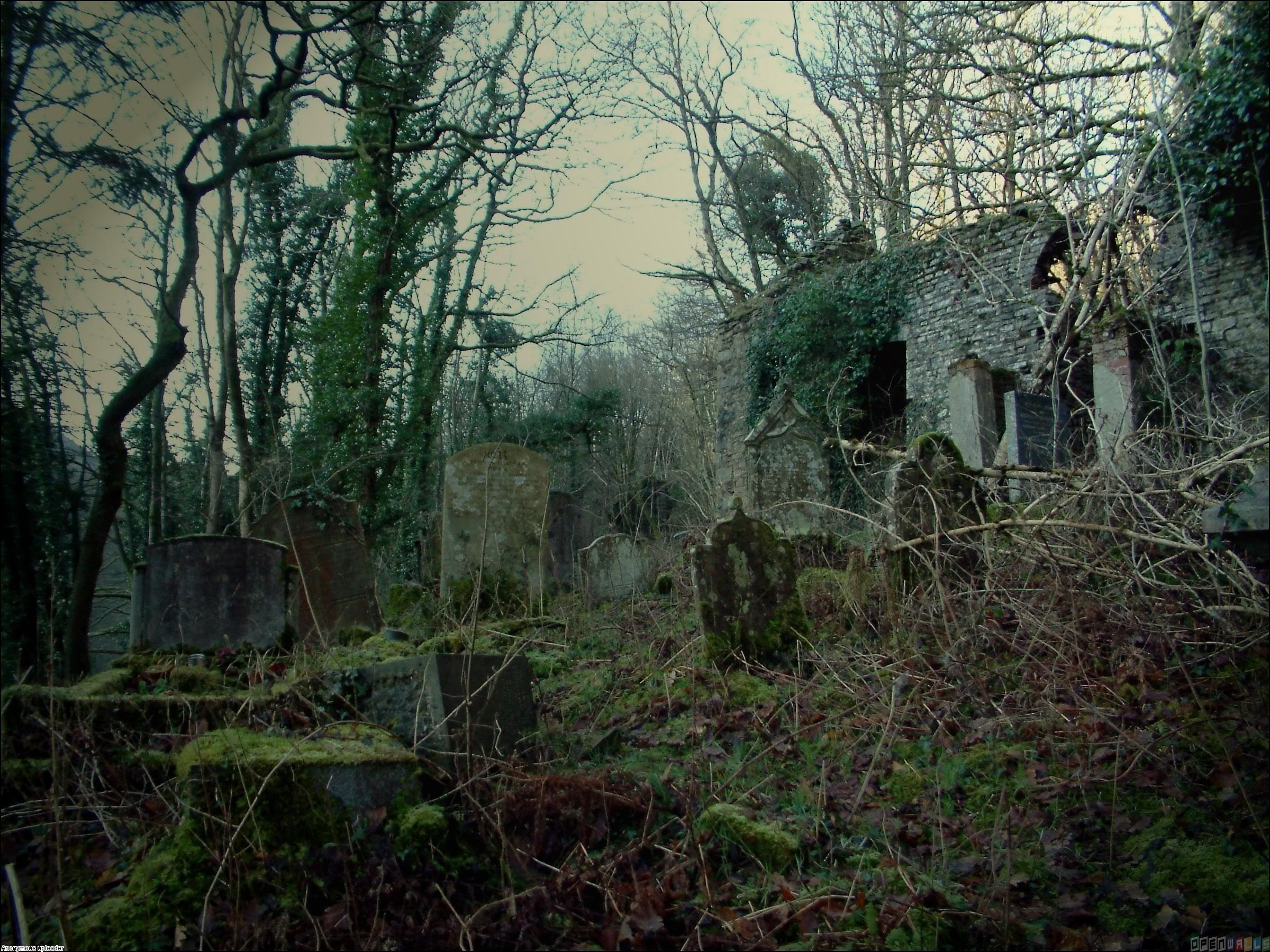 Creepy Graveyard Wallpaper (64+ images)