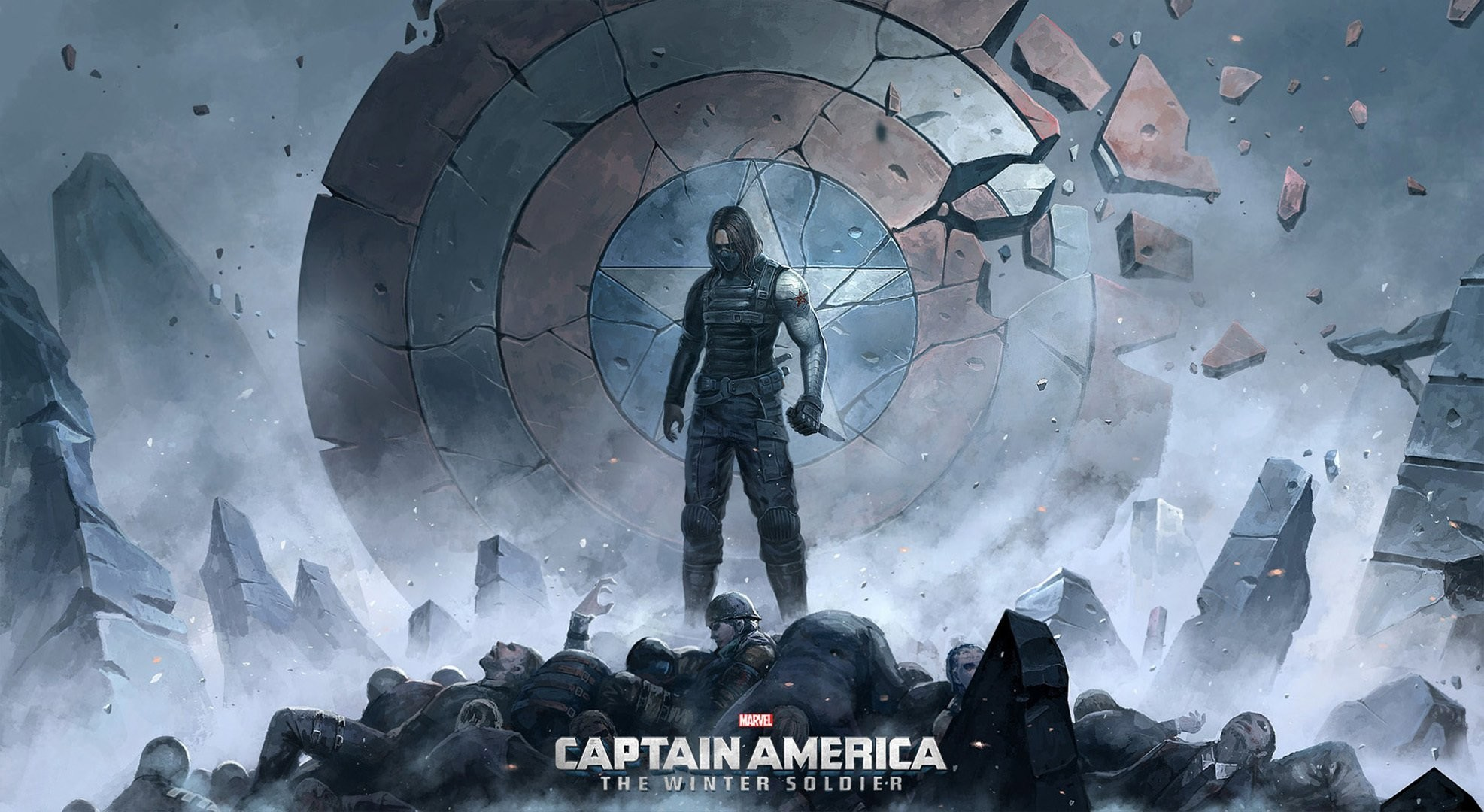 1973x1080 Captain America Winter Soldier Wallpapers Free