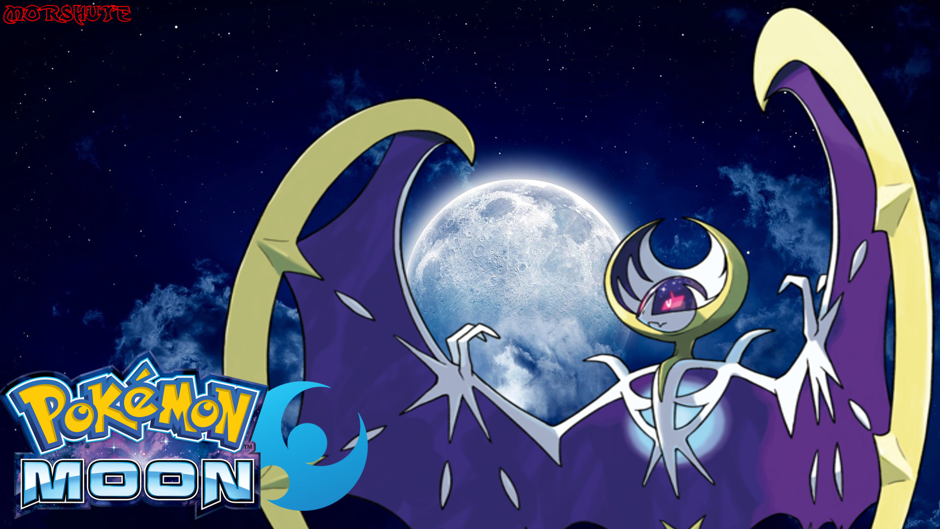 1920x1080 Lunala wallpaper by Morshute Lunala wallpaper by Morshute