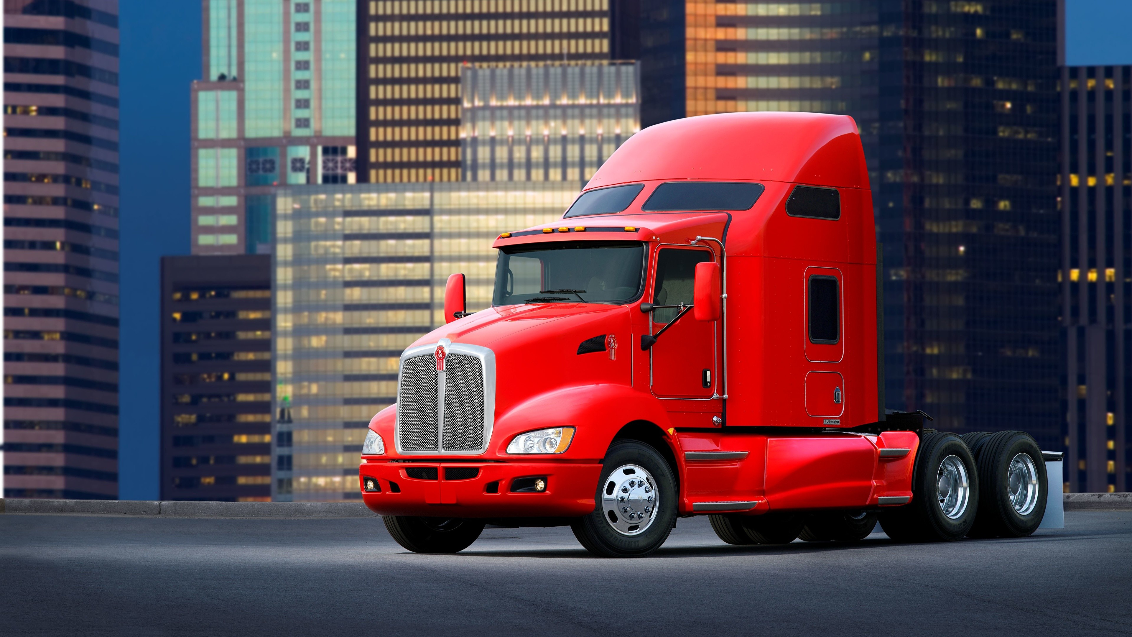 3840x2160 Wallpaper Trucks Kenworth automobile  lorry auto Cars