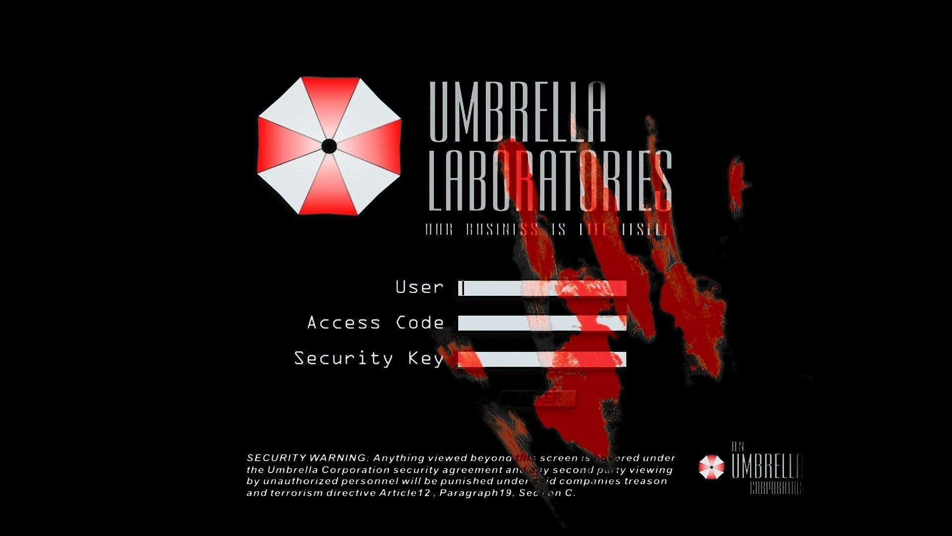 Resident evil umbrella corp wallpaper 72 images 1920x1080 report rss umbrella corporation wallpaper view original voltagebd Images