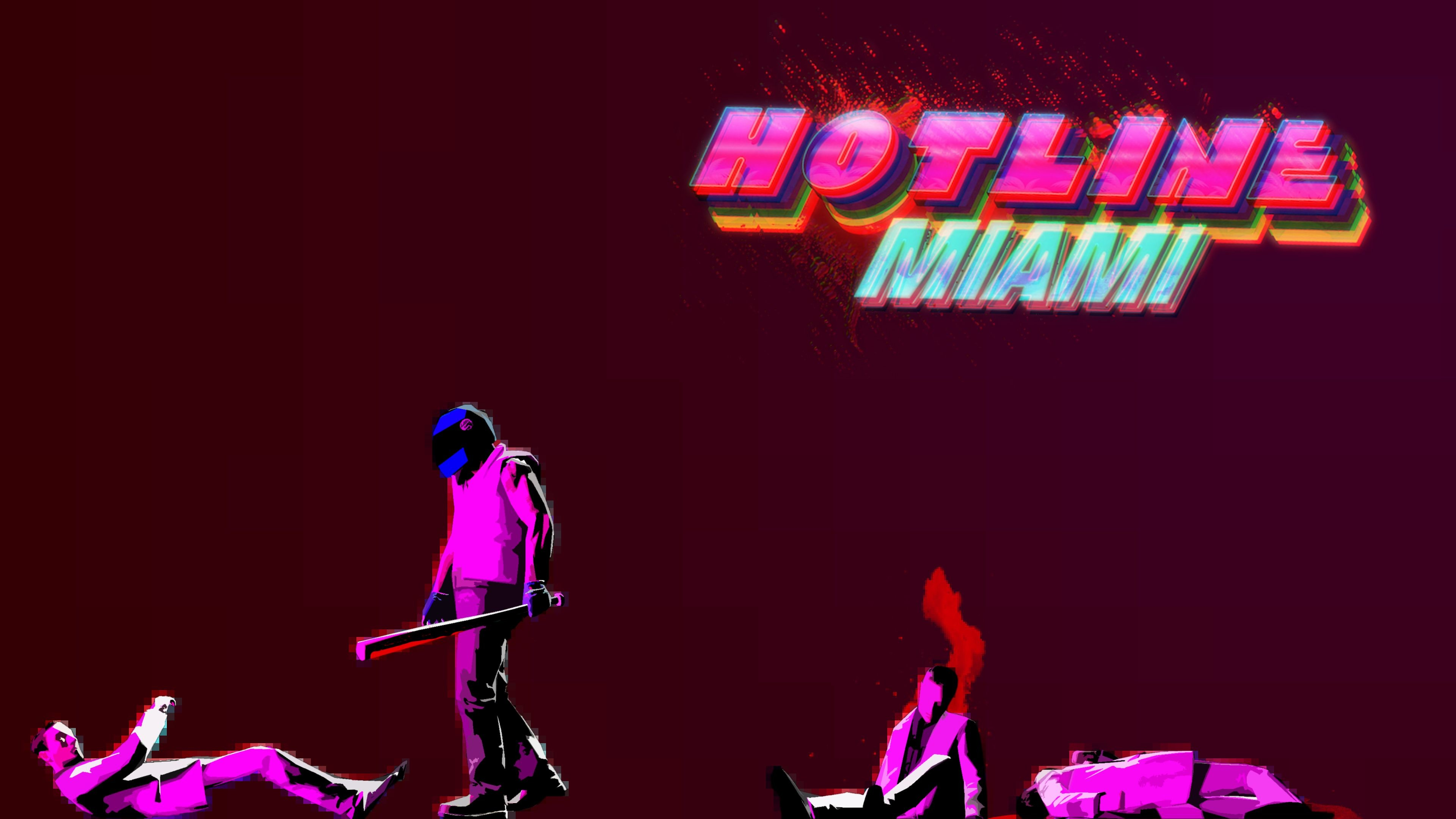 3840x2160 Hotline Miami HD Wallpapers and Backgrounds