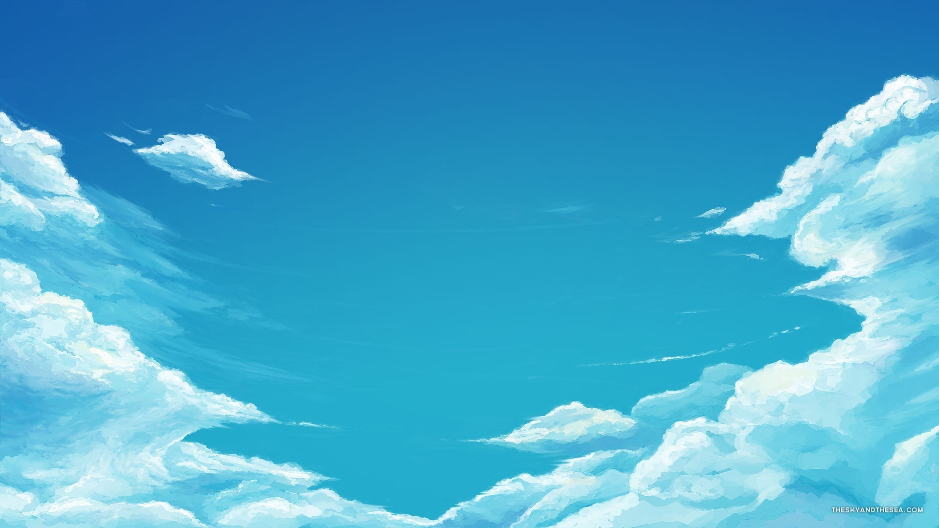 1920x1080 Very cool blue sky wallpaper