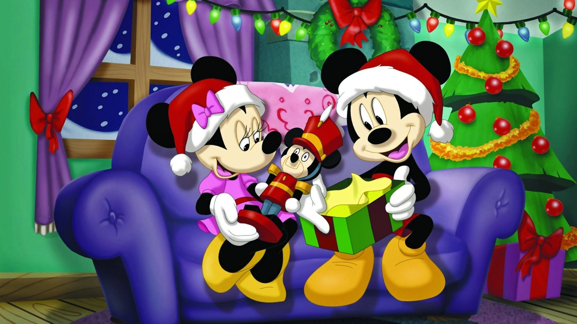 1920x1080 ... wallpapers for mobile; mickey mouse and minnie mouse christmas gifts  desktop background ...