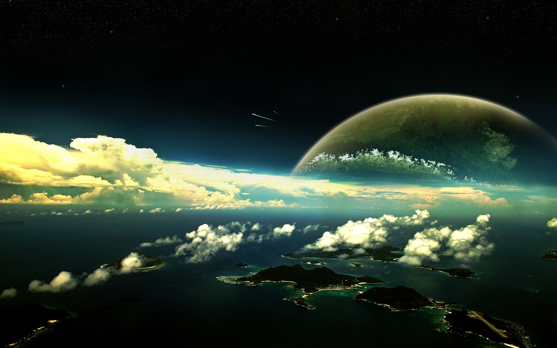 1920x1200 Exosphere Wallpapers X Background Photos High Resolution Cool Desktop Wallpaper