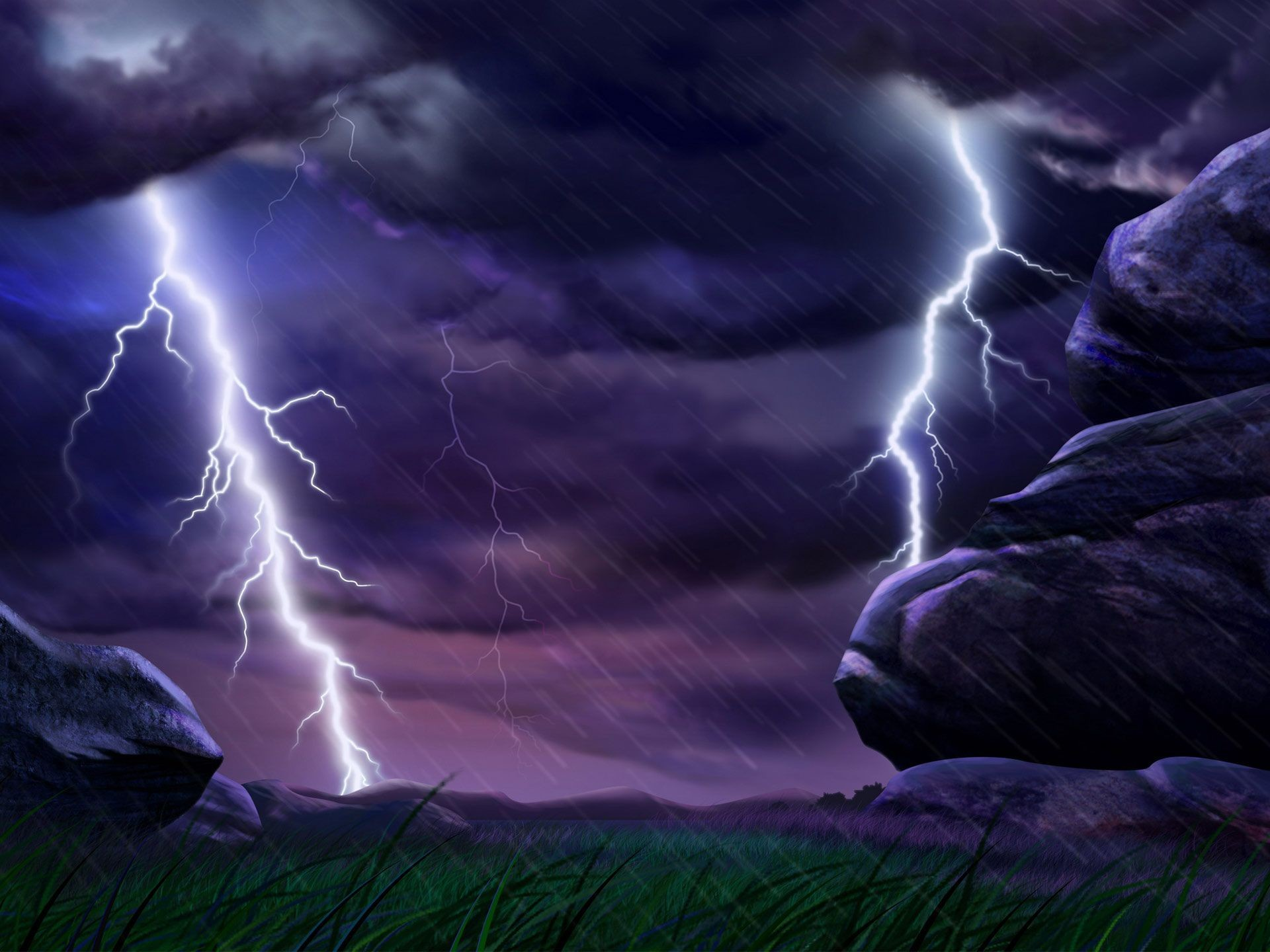 1920x1440 Cool Lightning Backgrounds
