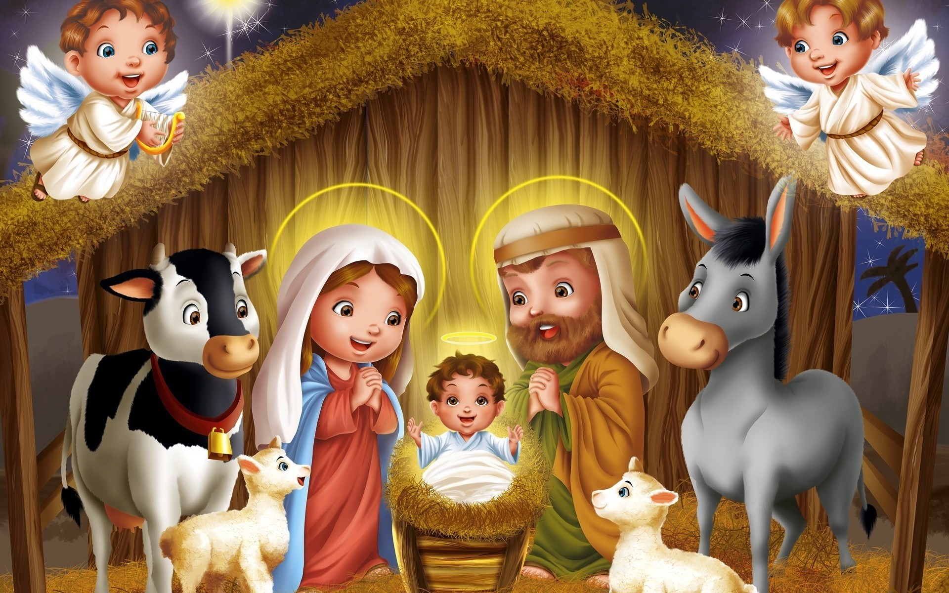 1920x1200 Jesus Christ Birth images
