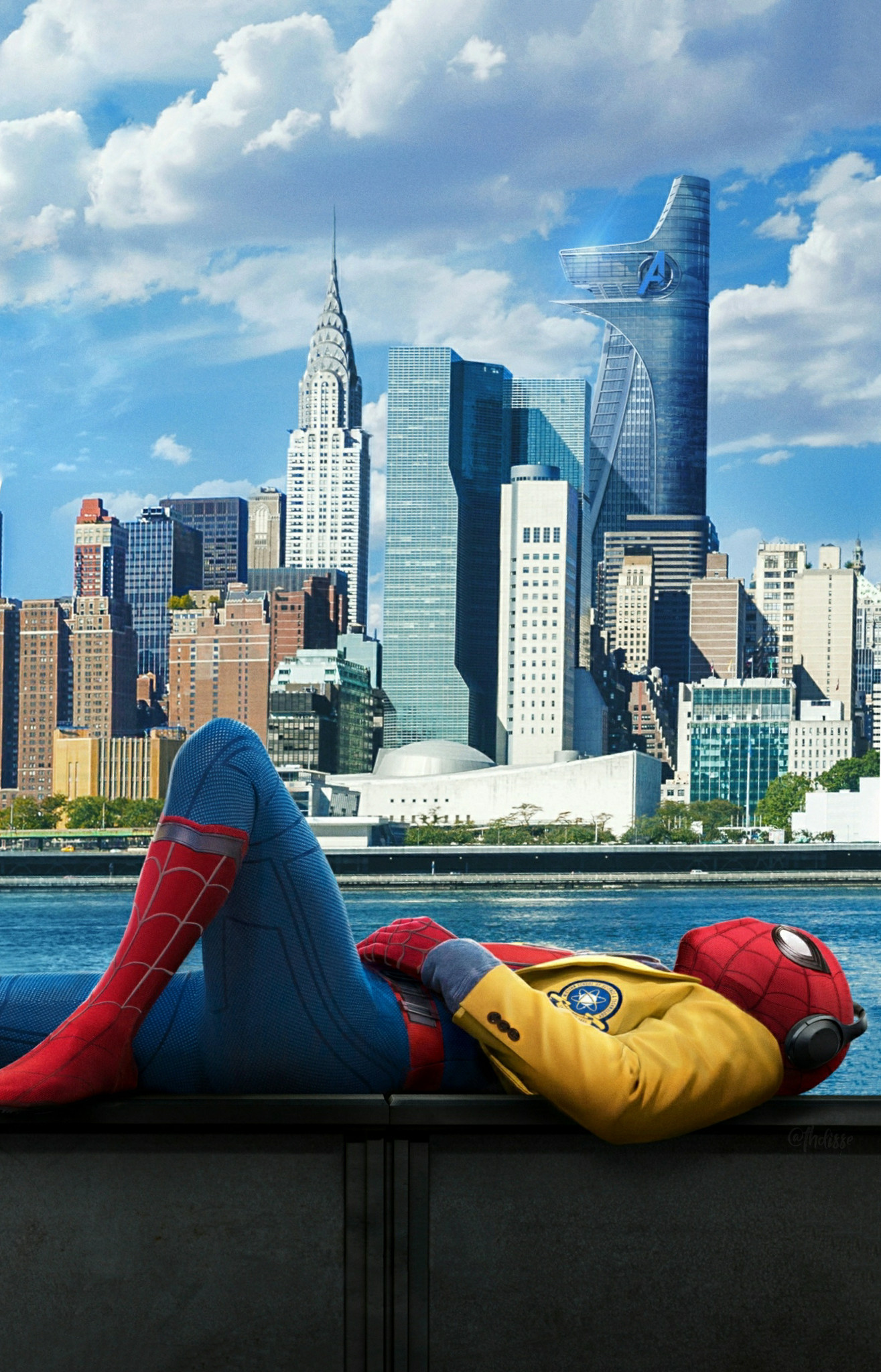 1315x2048 Spider-Man Homecoming Wallpaper