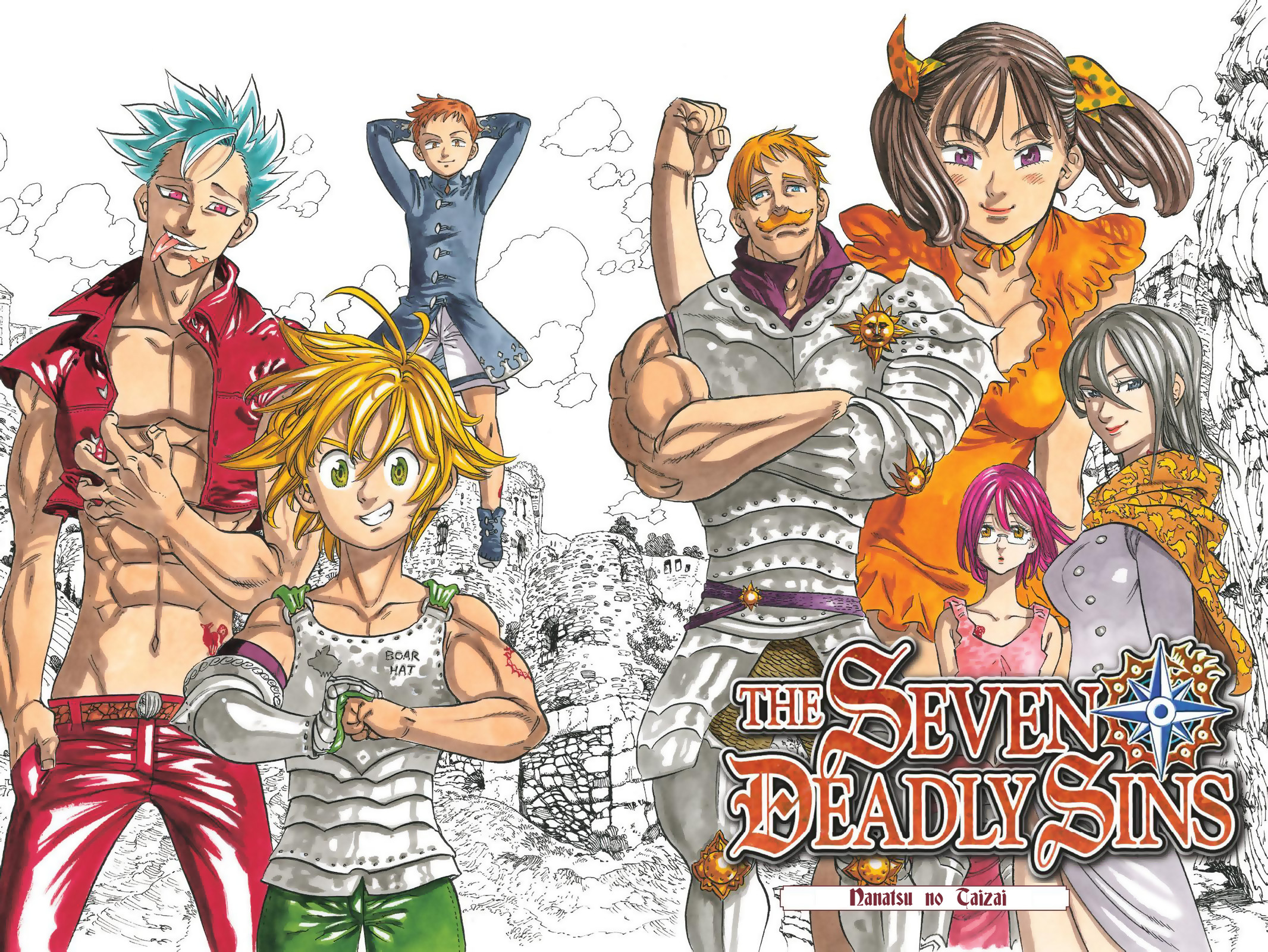 2132x1600 Anime - The Seven Deadly Sins Manga Merlin (The Seven Deadly Sins) Diane (