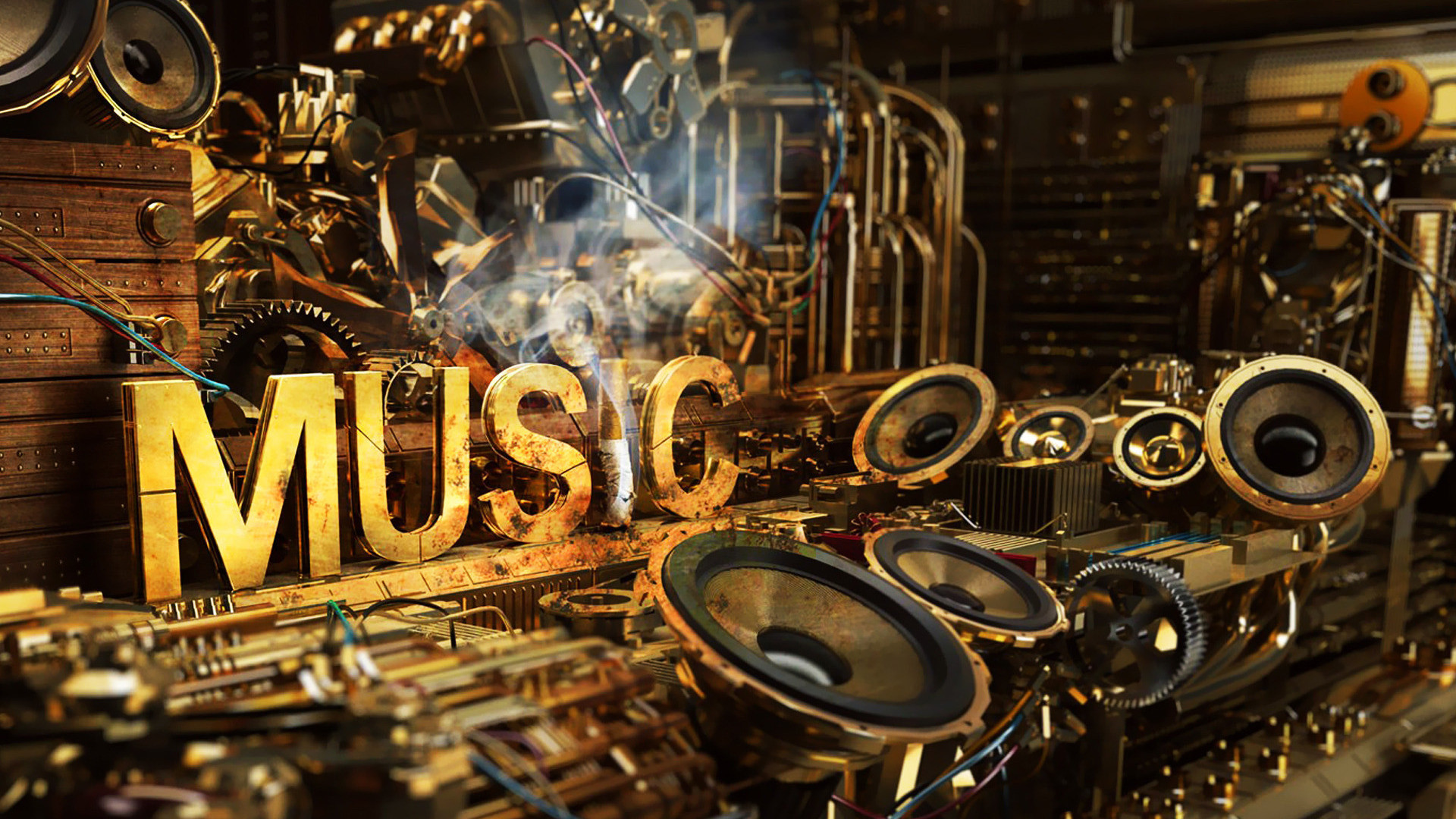 1920x1080 Musical Notes HD desktop wallpaper High Definition Fullscreen