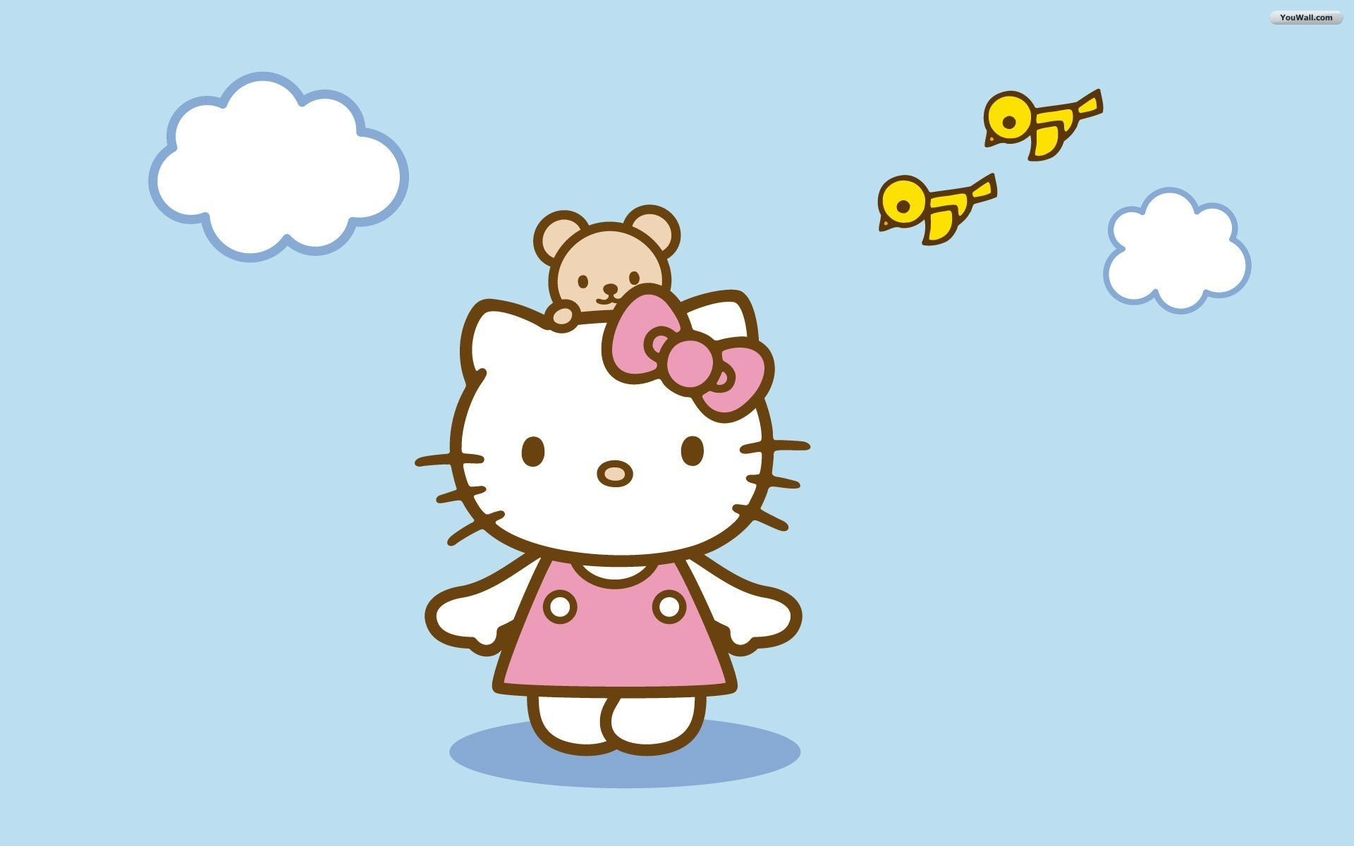 1920x1200 Collection of Hello Kitty Widescreen Wallpapers: 159339034,