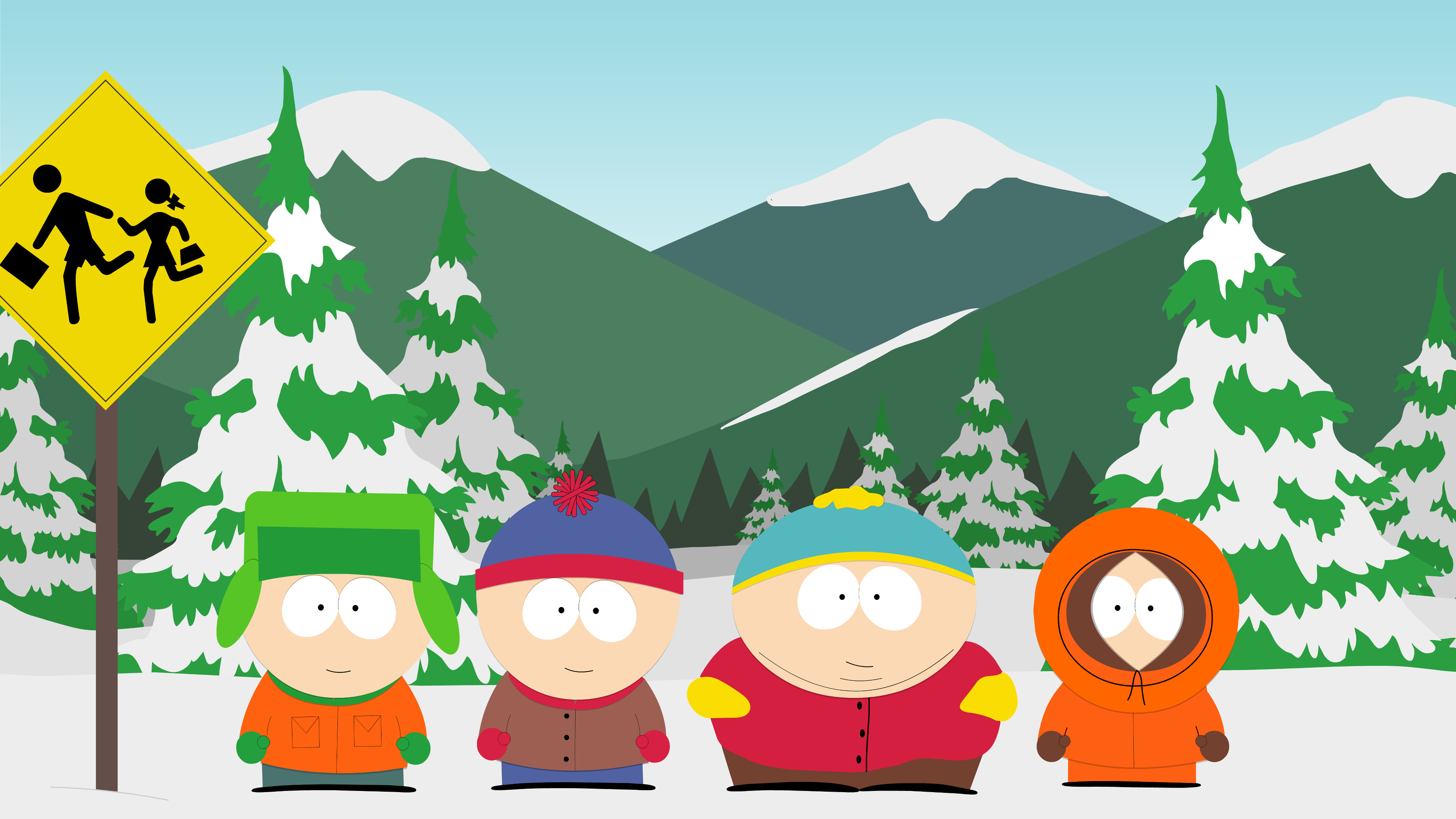 3840x2160 Eric Cartman South Park · HD Wallpaper | Background Image ID:590805