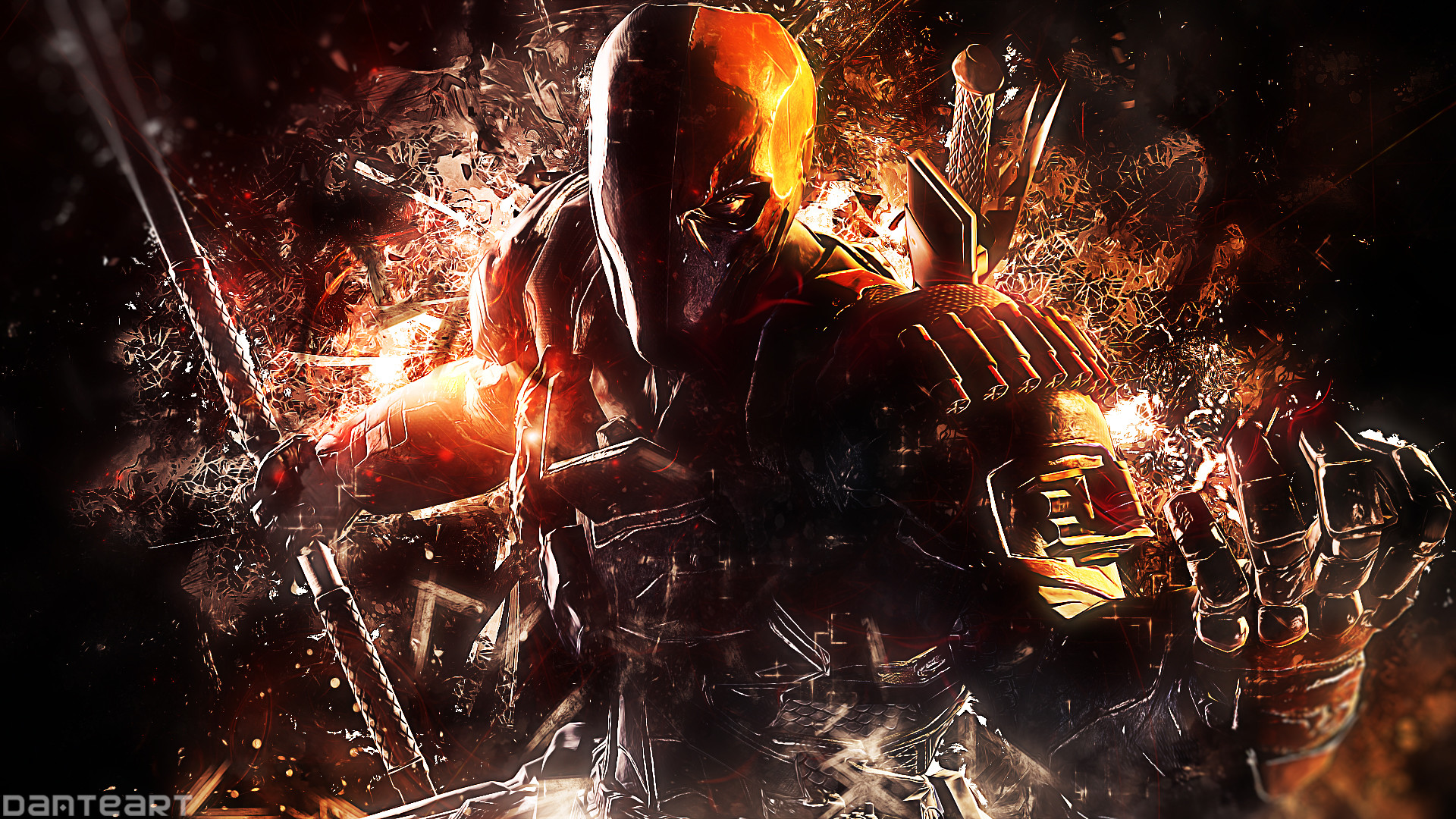 1920x1080 Batman Arkham Origins Deathstroke Wallpaper by DanteArtWallpapers Batman  Arkham Origins Deathstroke Wallpaper by DanteArtWallpapers