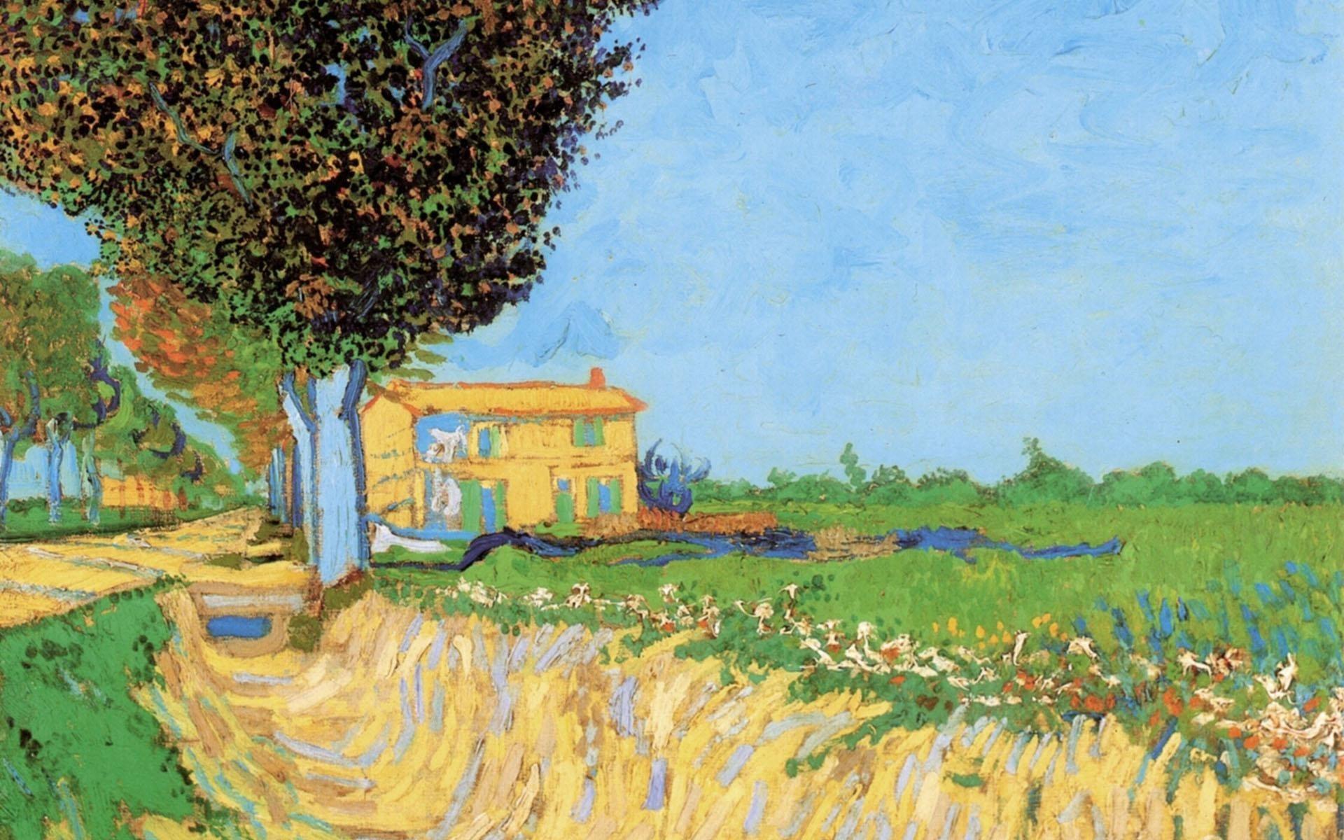 1920x1080 Vincent Van Gogh GemAlde Wallpaper 1 13
