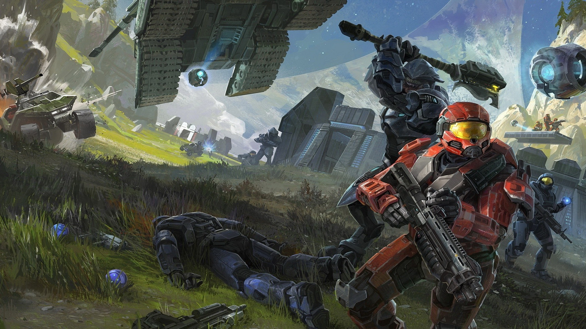 1920x1080 halo reach 09 Wallpaper Xbox 360 Wallpapers Game HD Wallpapers
