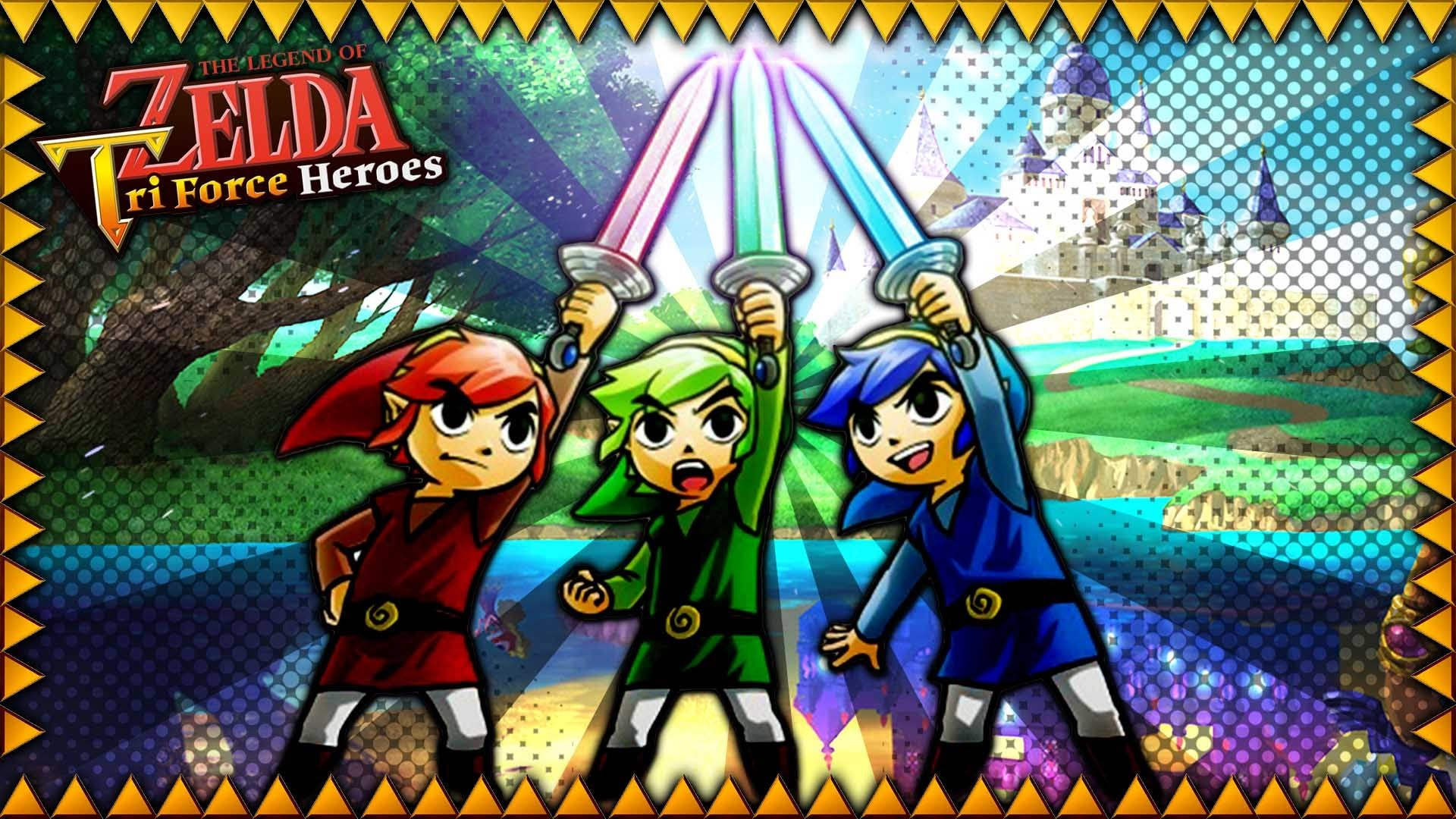 Triforce Heroes Wallpaper 75 Images