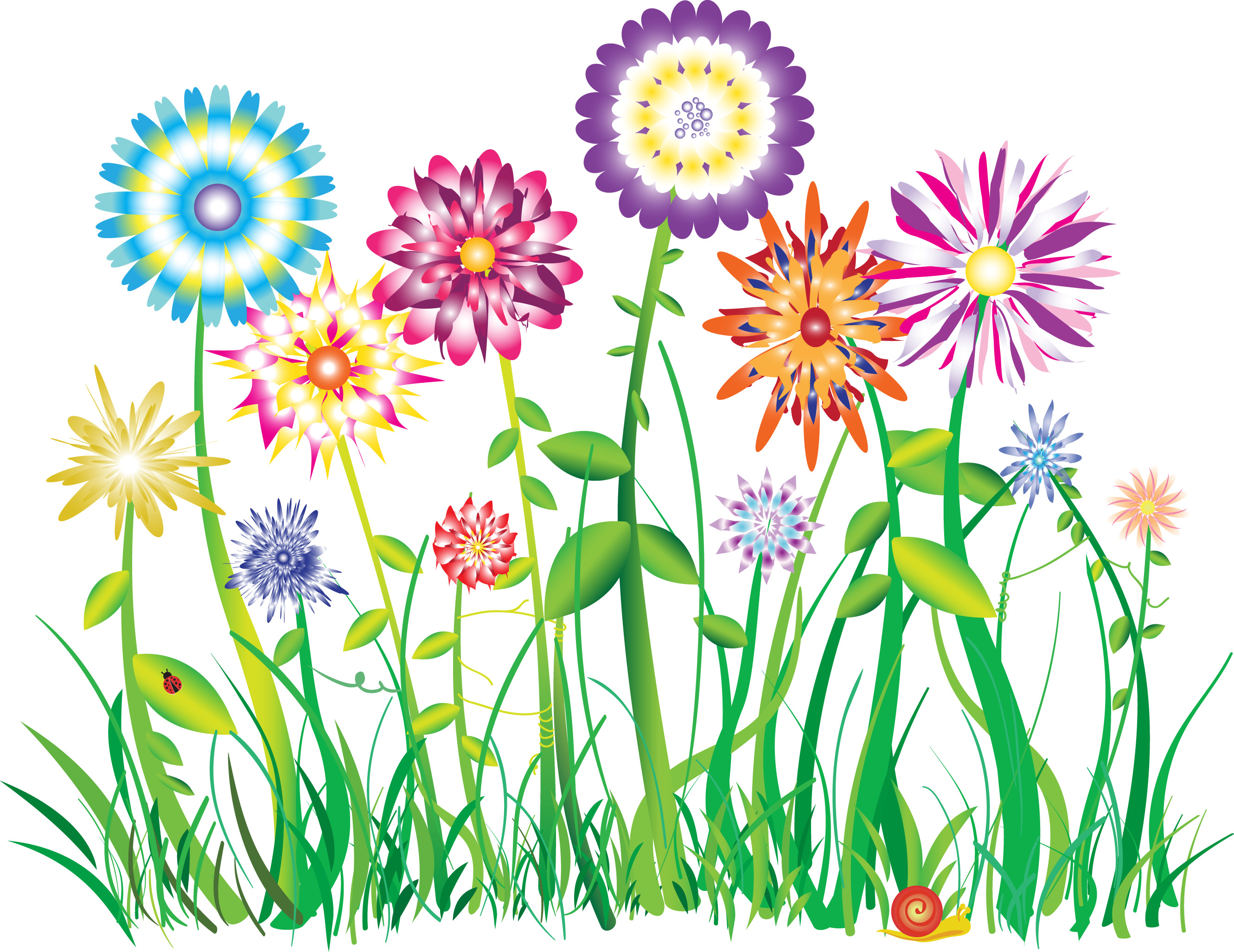 2661x2054 Gallery For Flower Power Clipart