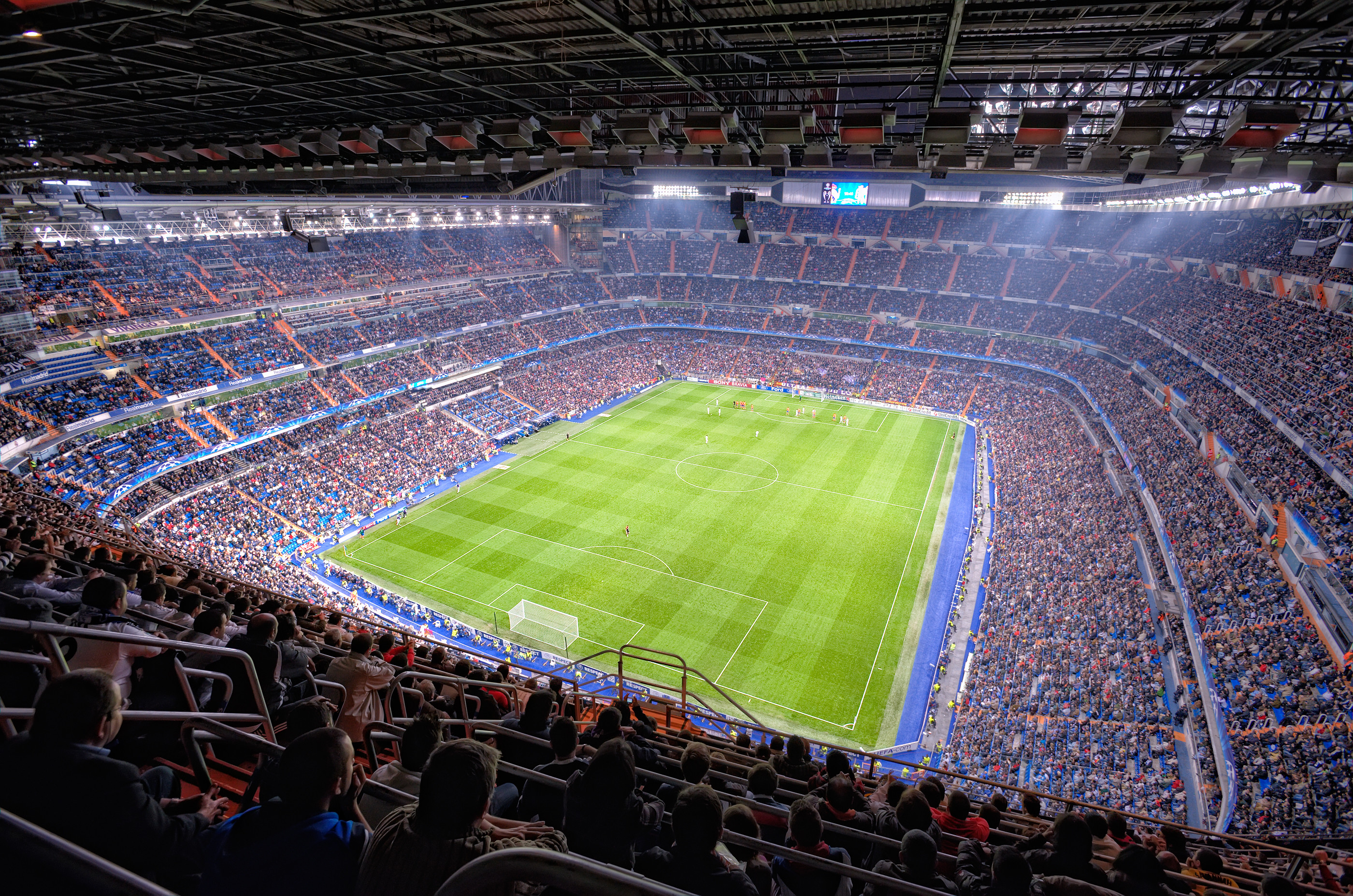 2800x1856 santiago bernabeu stadium real madrid football club wallpapers hd Wallpaper HD