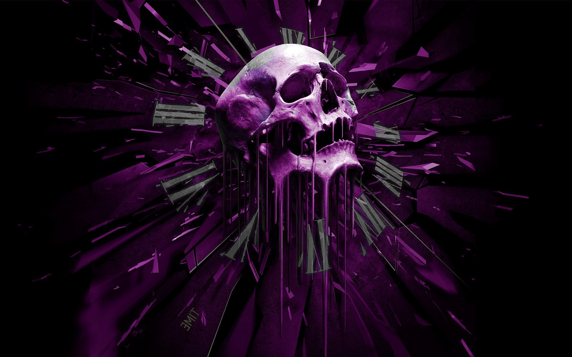 Purple Wallpapers 12 Best Wallpapers Collection Desktop: Abstract Skull Wallpaper (73+ Images