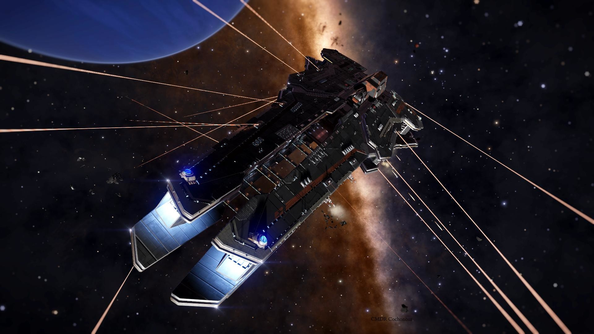 1920x1080 Elite: Dangerous Dreadnaught