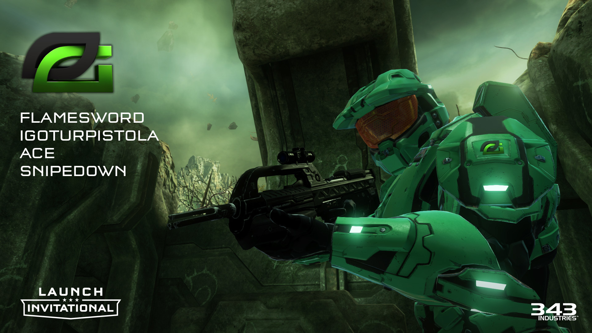 1920x1080 Optic Gaming Halo TCM Halo