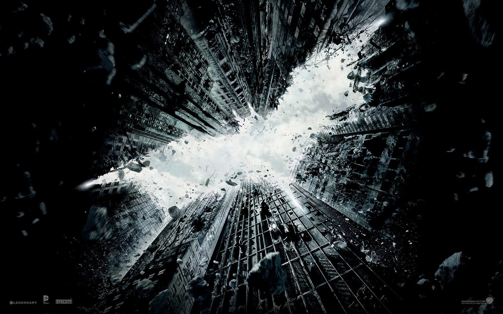 1920x1200 'The Dark Knight Rises' Wallpapers: Decorate Your Desktop, Batman Style