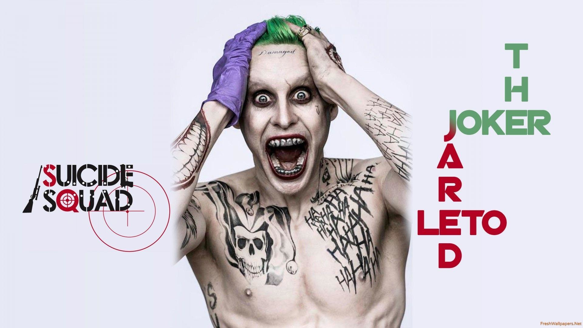1920x1080 The Joker In Suicide Squad wallpapers | Freshwallpapers