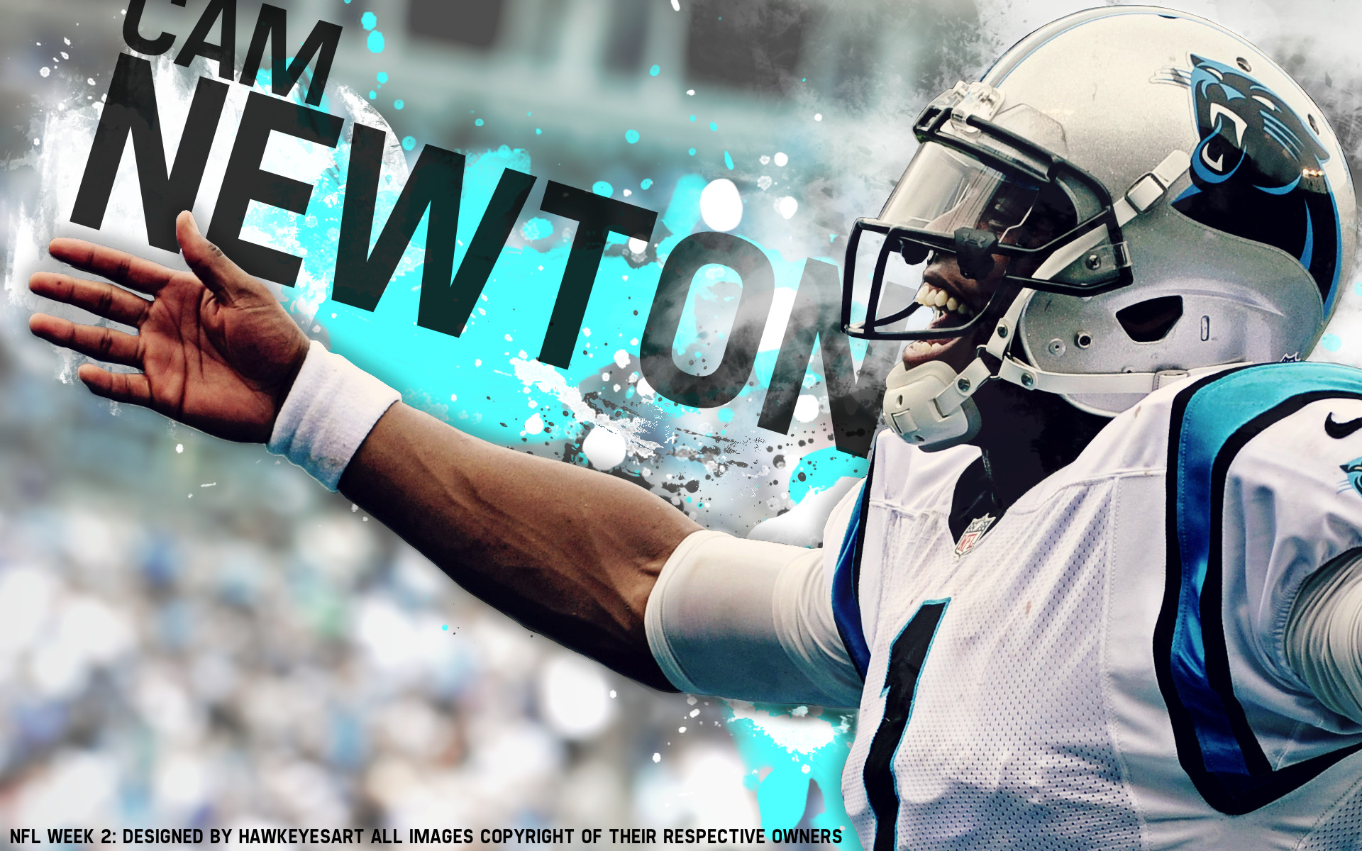 1920x1200 ... cam newton wallpaper superman wallpapersafari; carolina panthers hd ...