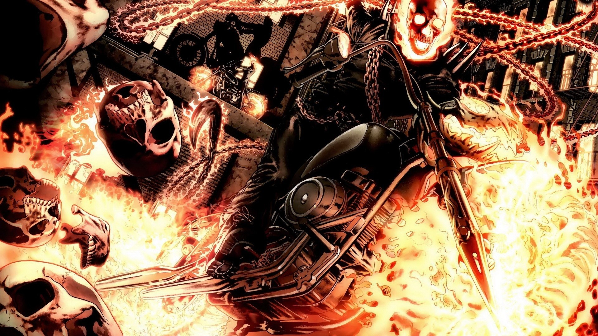 Marvel ghost rider wallpaper hd