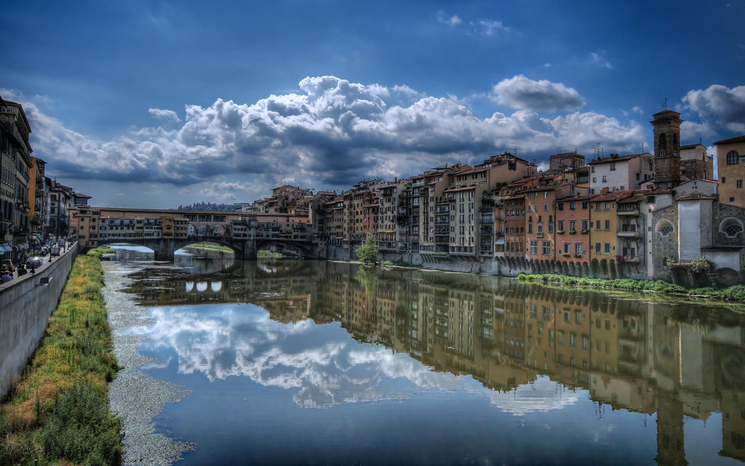 2560x1600 Ponte Vecchio in Florence