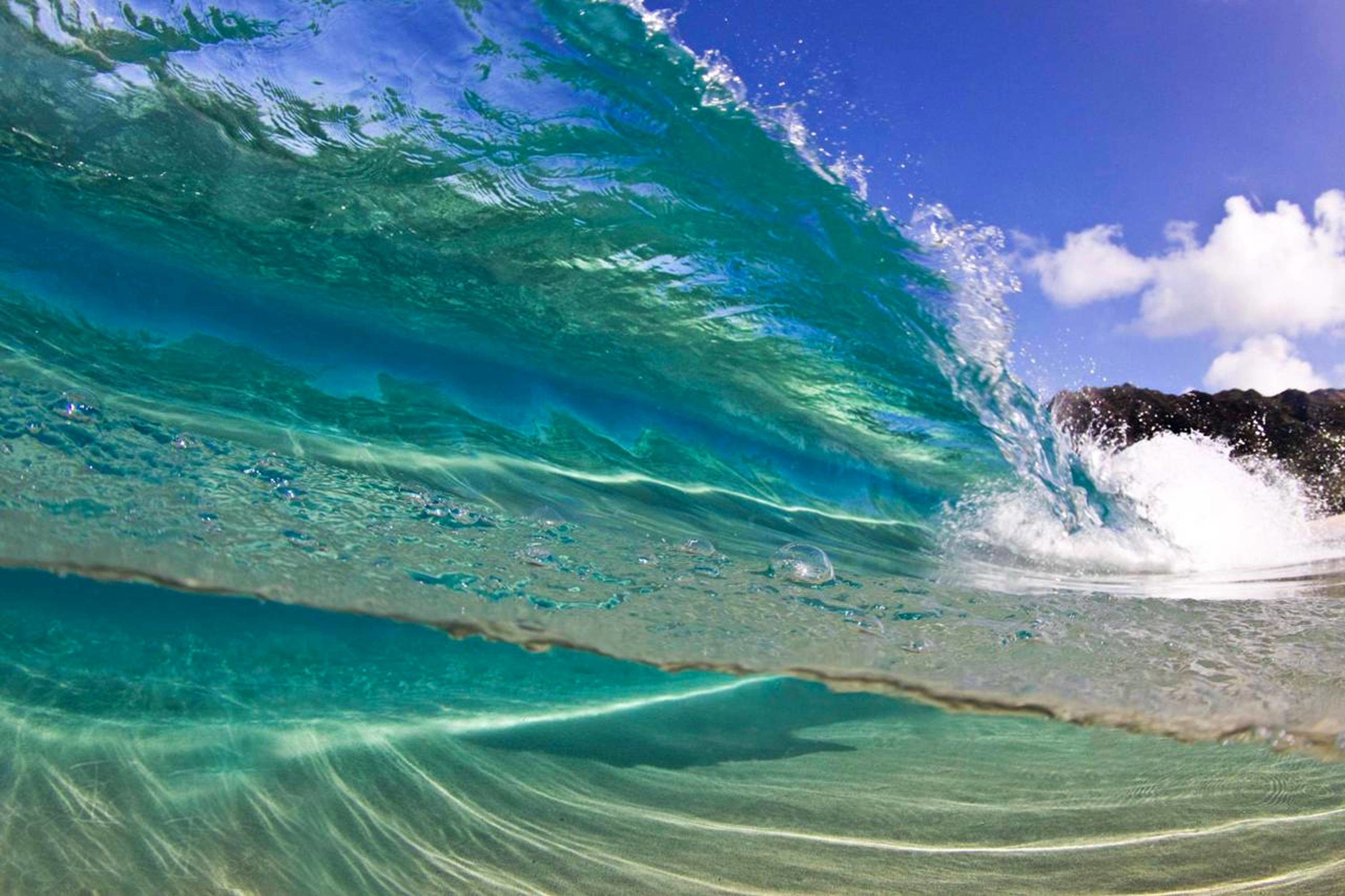 3000x1999 Hawaii Wave Wallpaper