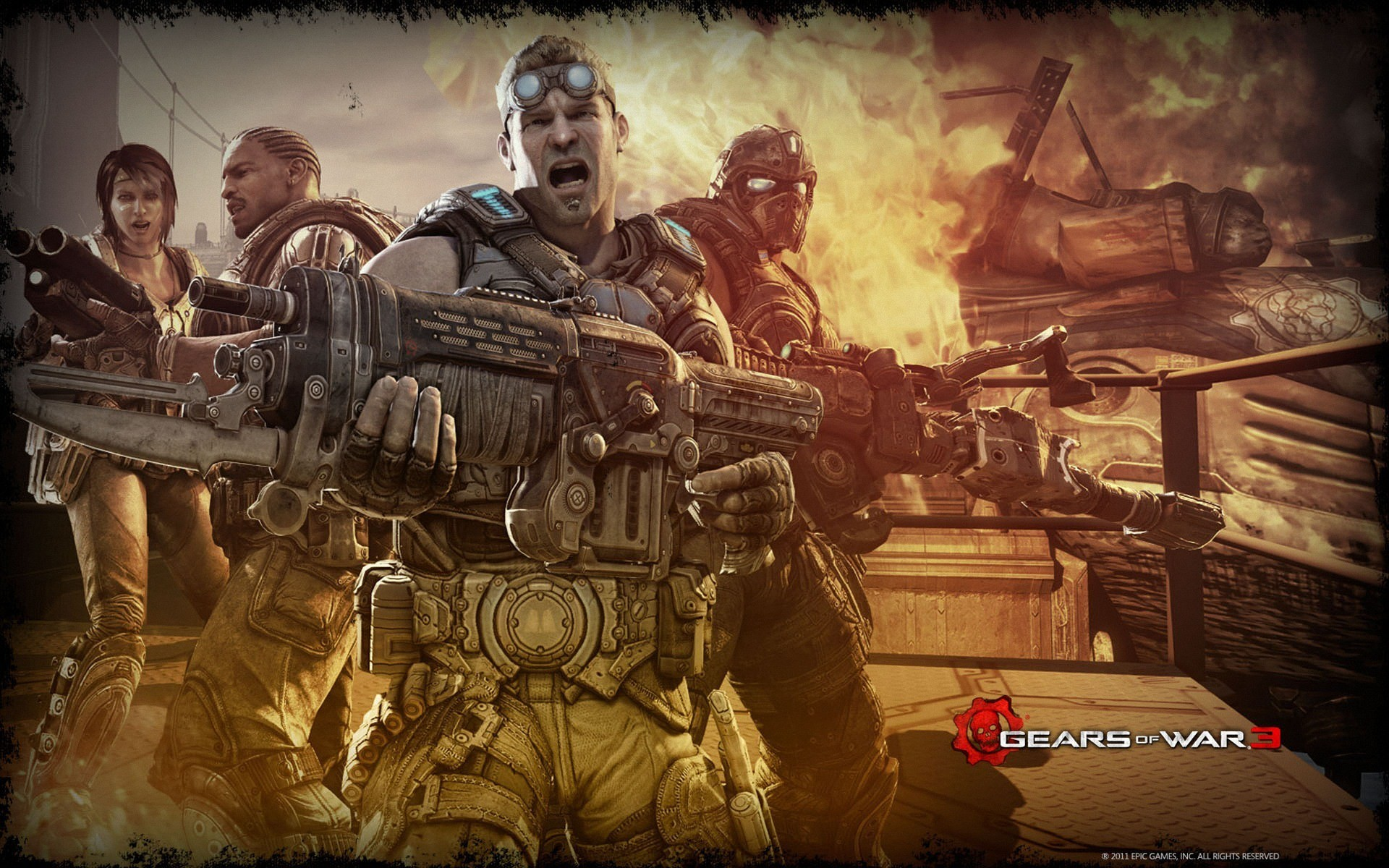 1920x1200 Bild: Gears of War 3 Theme wallpapers and stock photos. Â«