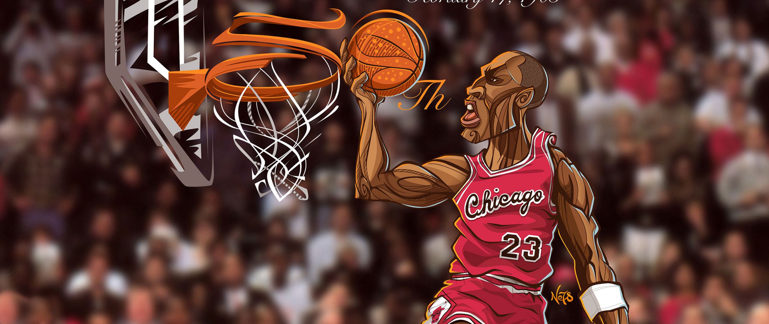 2560x1080 Preview wallpaper michael jordan, chicago bulls, sports, basketball, nba