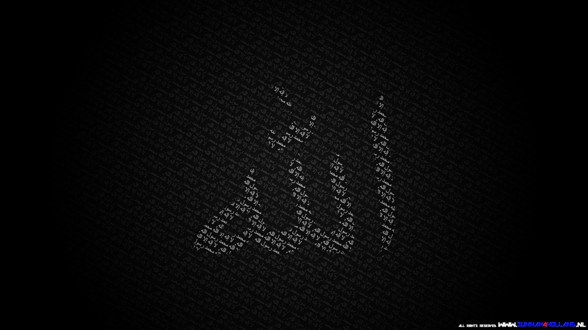 1920x1080 Allah Black Wallpaper 1920X1080 HD Widescreen